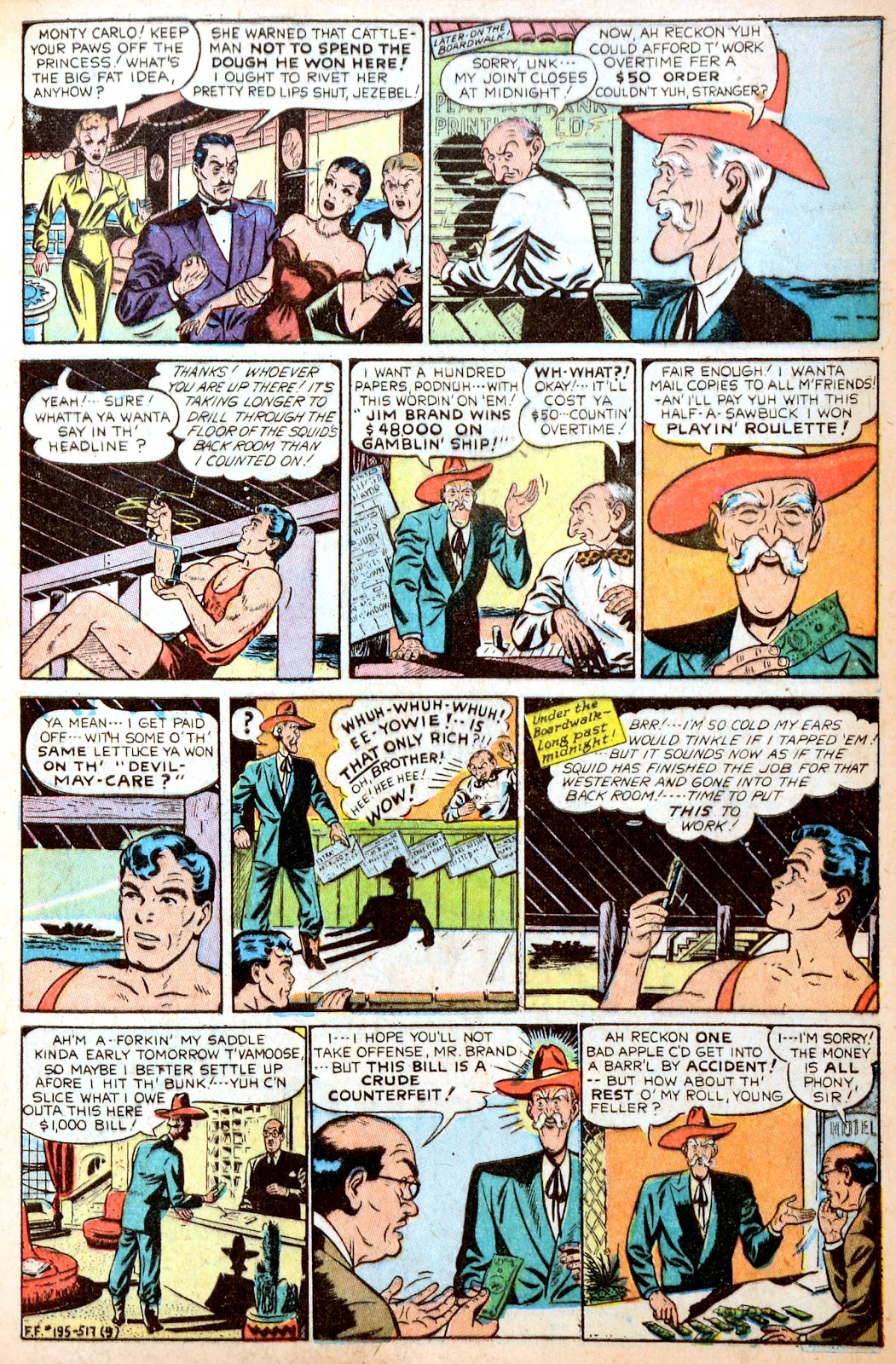 Read online Famous Funnies comic -  Issue #195 - 11