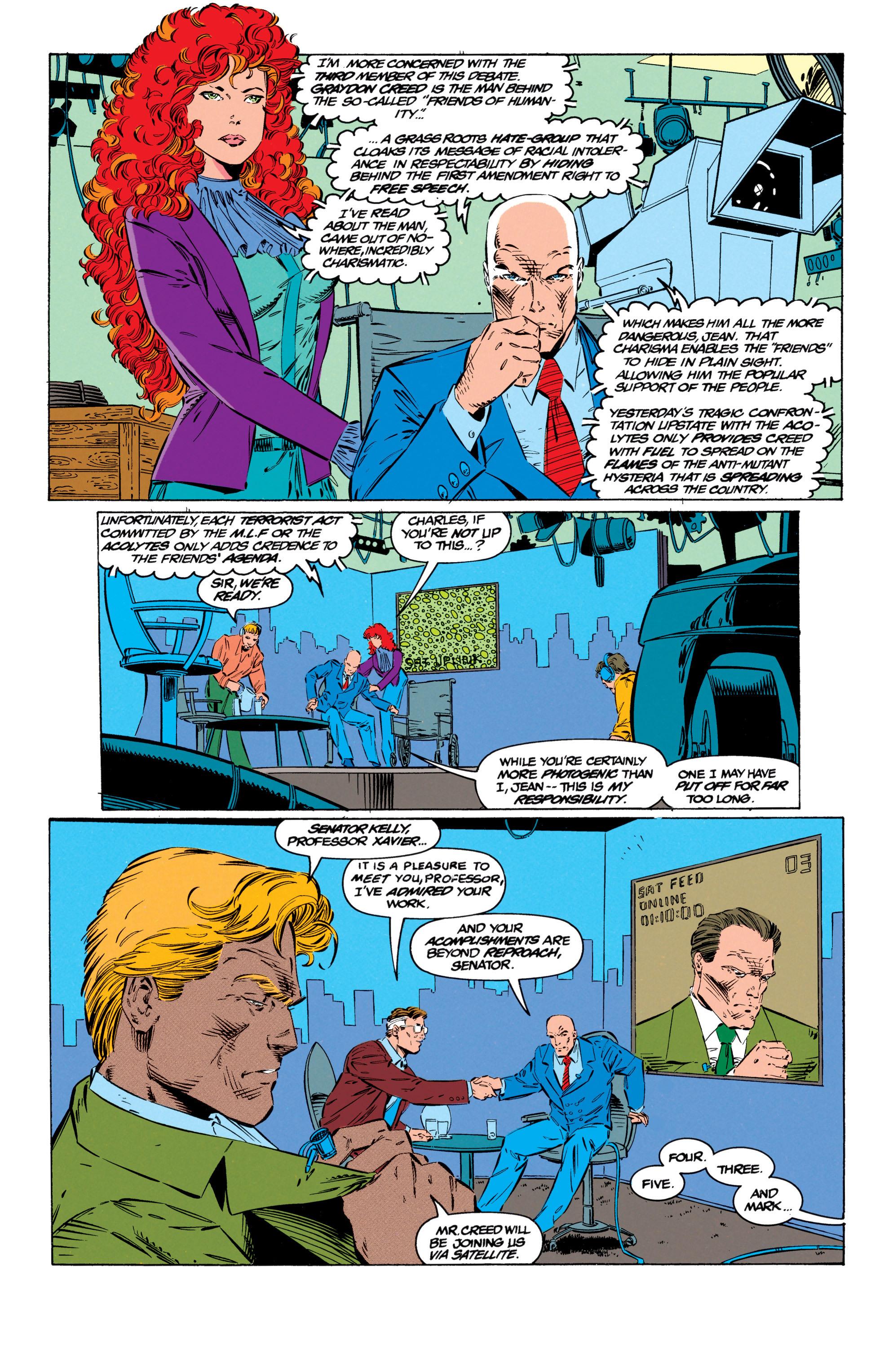 Read online Uncanny X-Men (1963) comic -  Issue #299 - 6