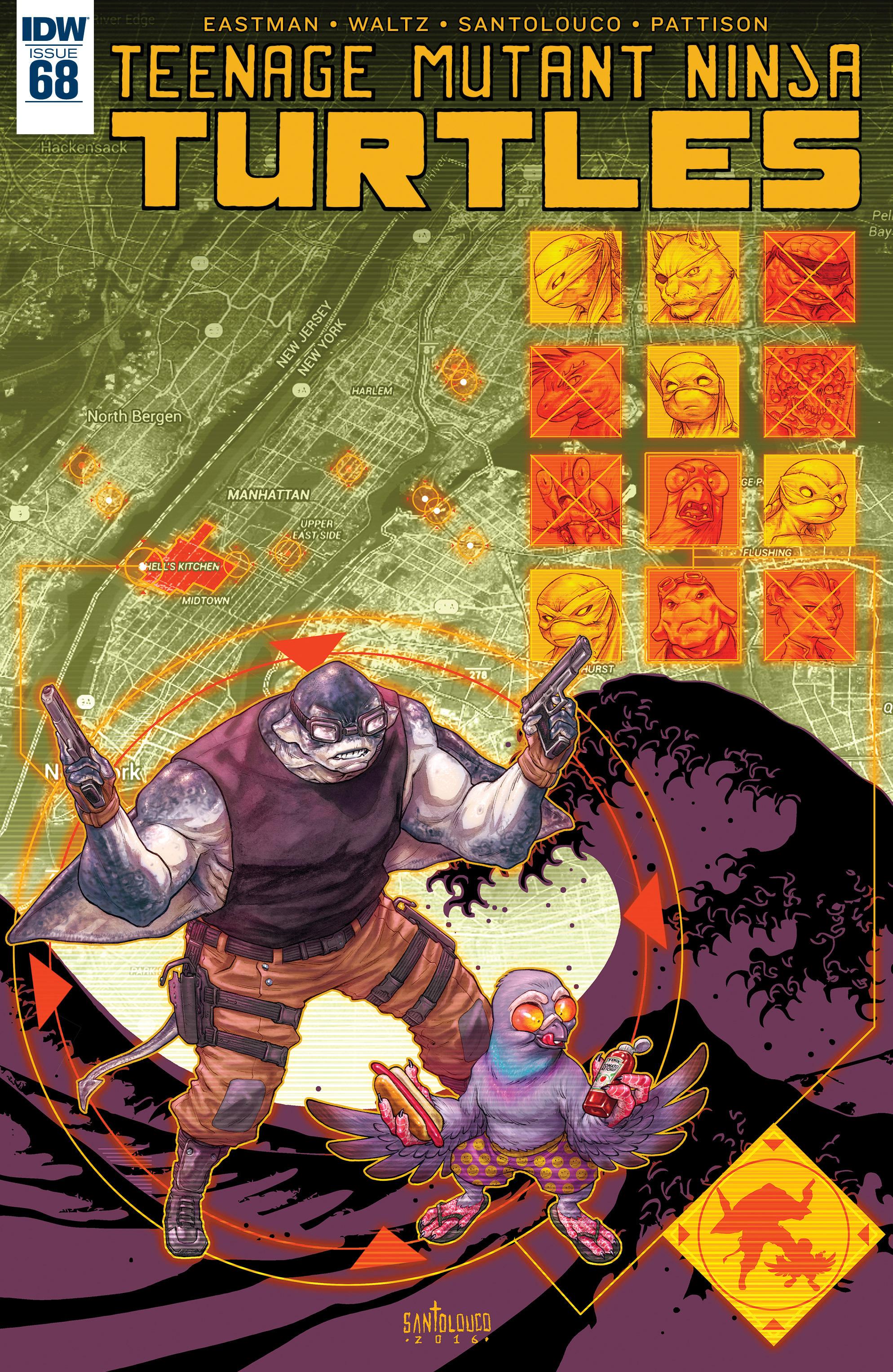 Read online Teenage Mutant Ninja Turtles (2011) comic -  Issue #68 - 1