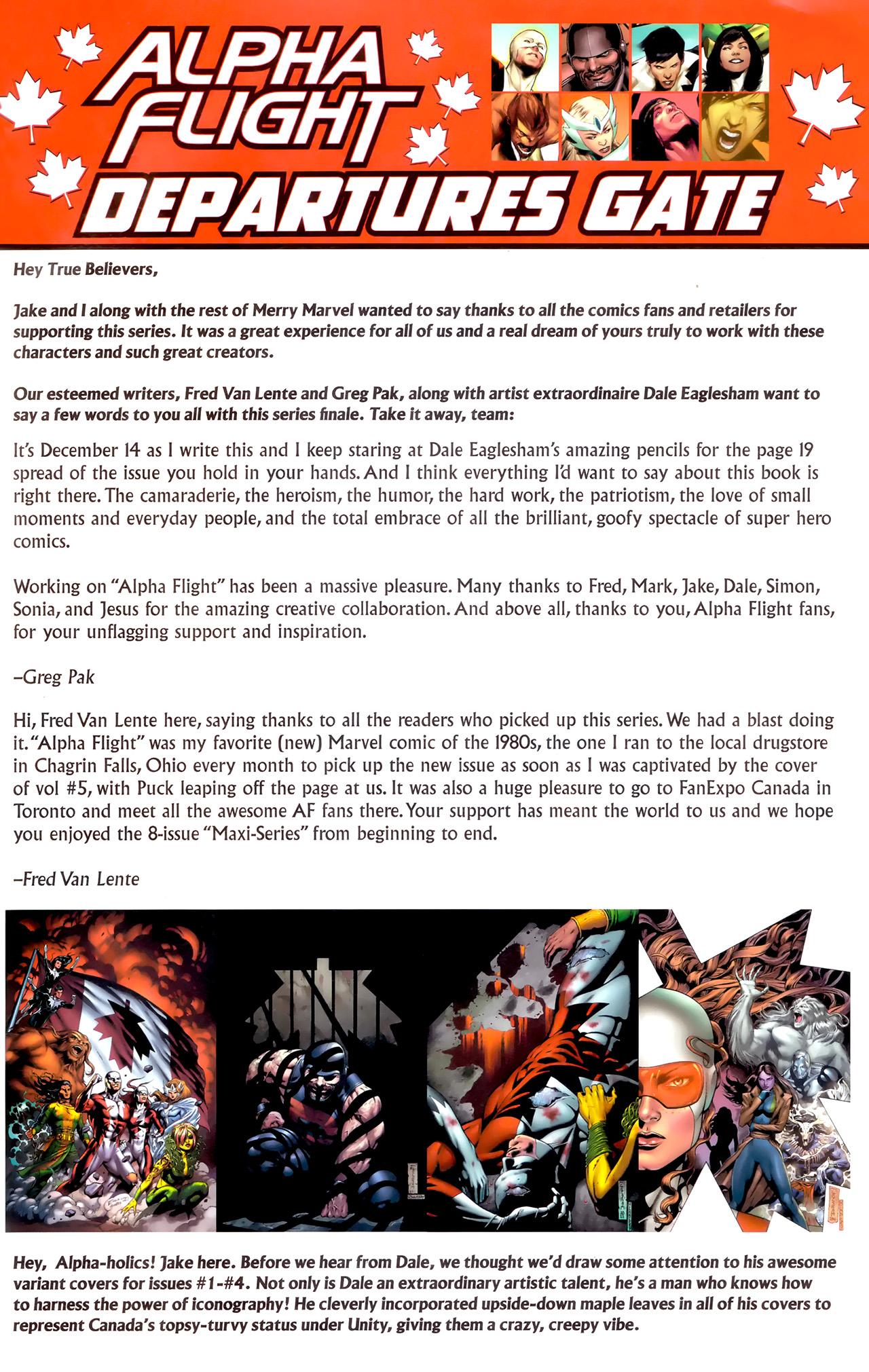 Read online Alpha Flight (2011) comic -  Issue #8 - 24