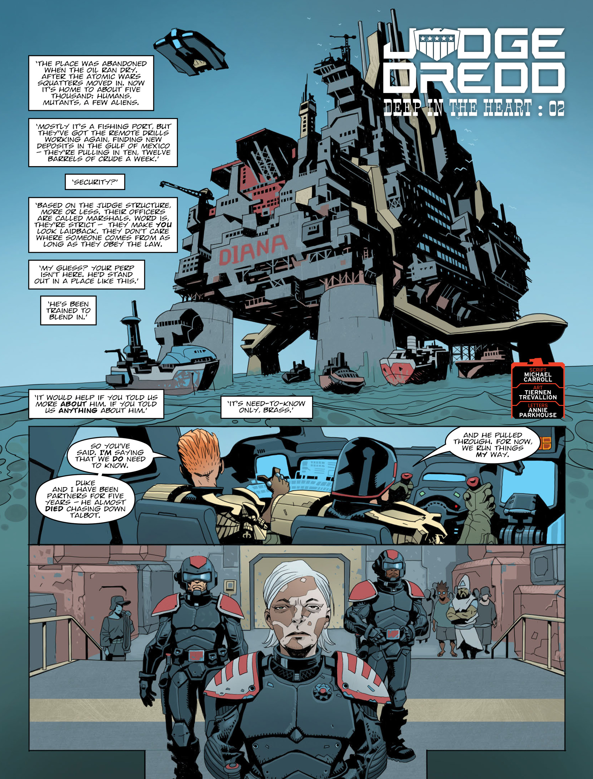 Read online 2000 AD comic -  Issue #2013 - 3