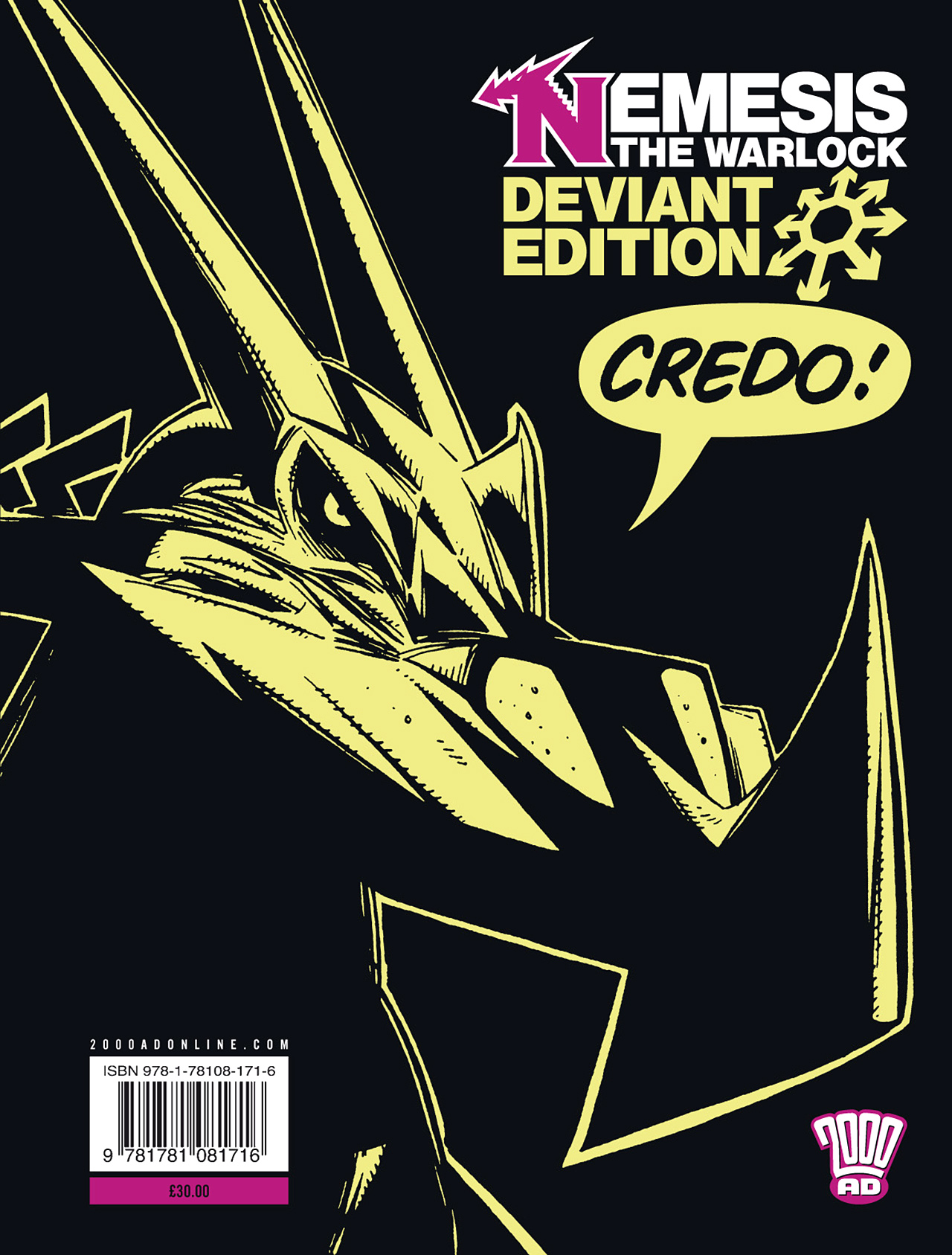 Read online Nemesis The Warlock comic -  Issue # TPB Deviant Edition - 239