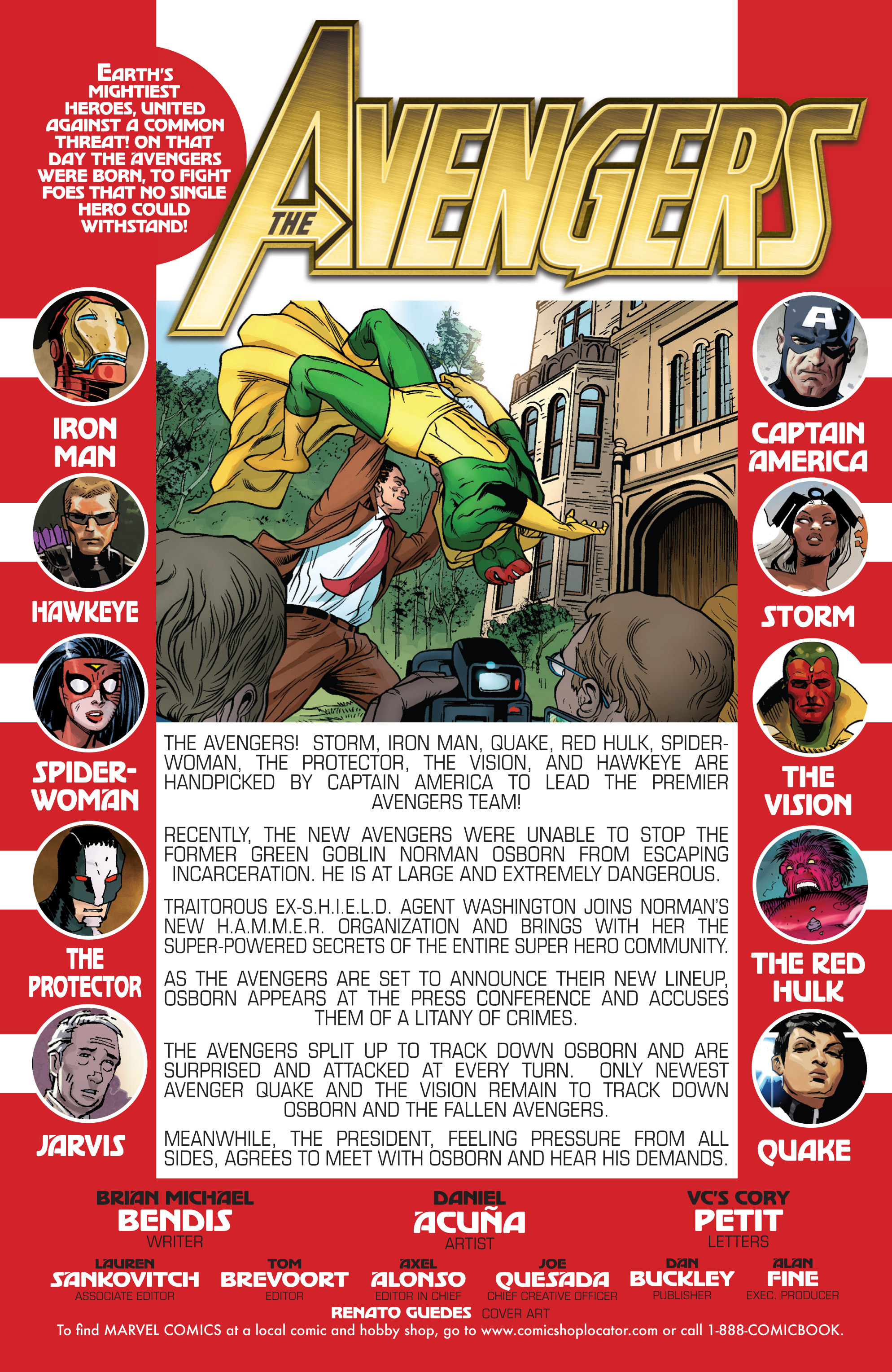 Read online Avengers (2010) comic -  Issue #23 - 2