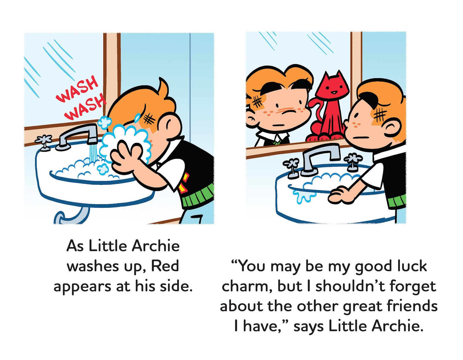 Read online Little Archie's Lucky Day comic -  Issue # Full - 25