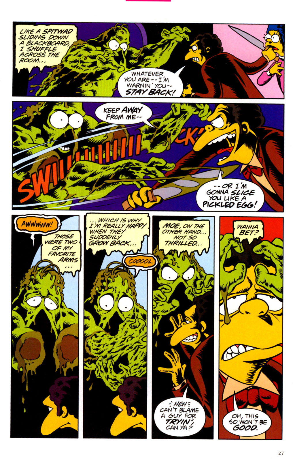 Read online Treehouse of Horror comic -  Issue #11 - 29