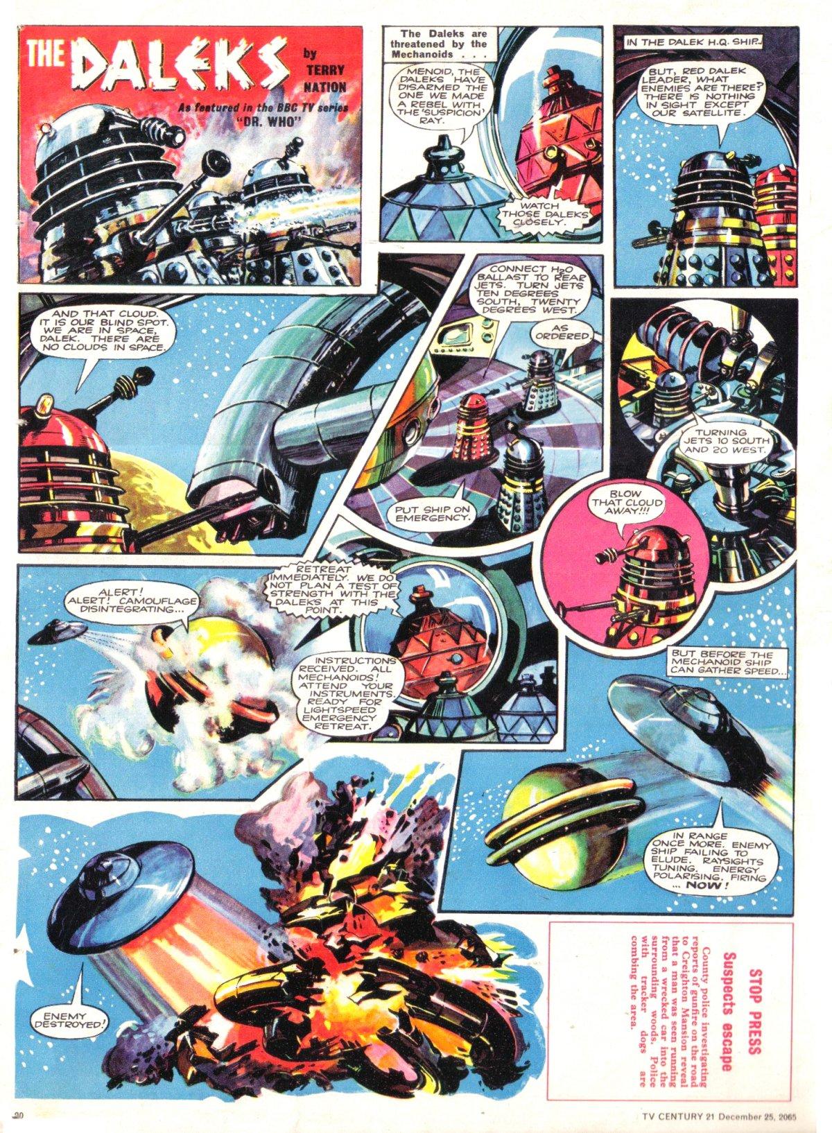 Read online TV Century 21 (TV 21) comic -  Issue #49 - 19