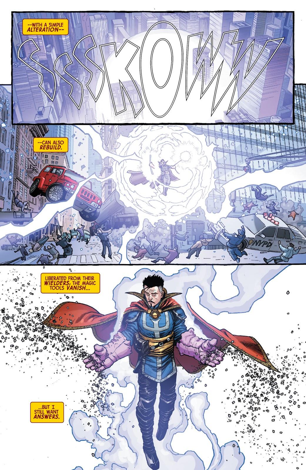 Read online Dr. Strange comic -  Issue #2 - 21