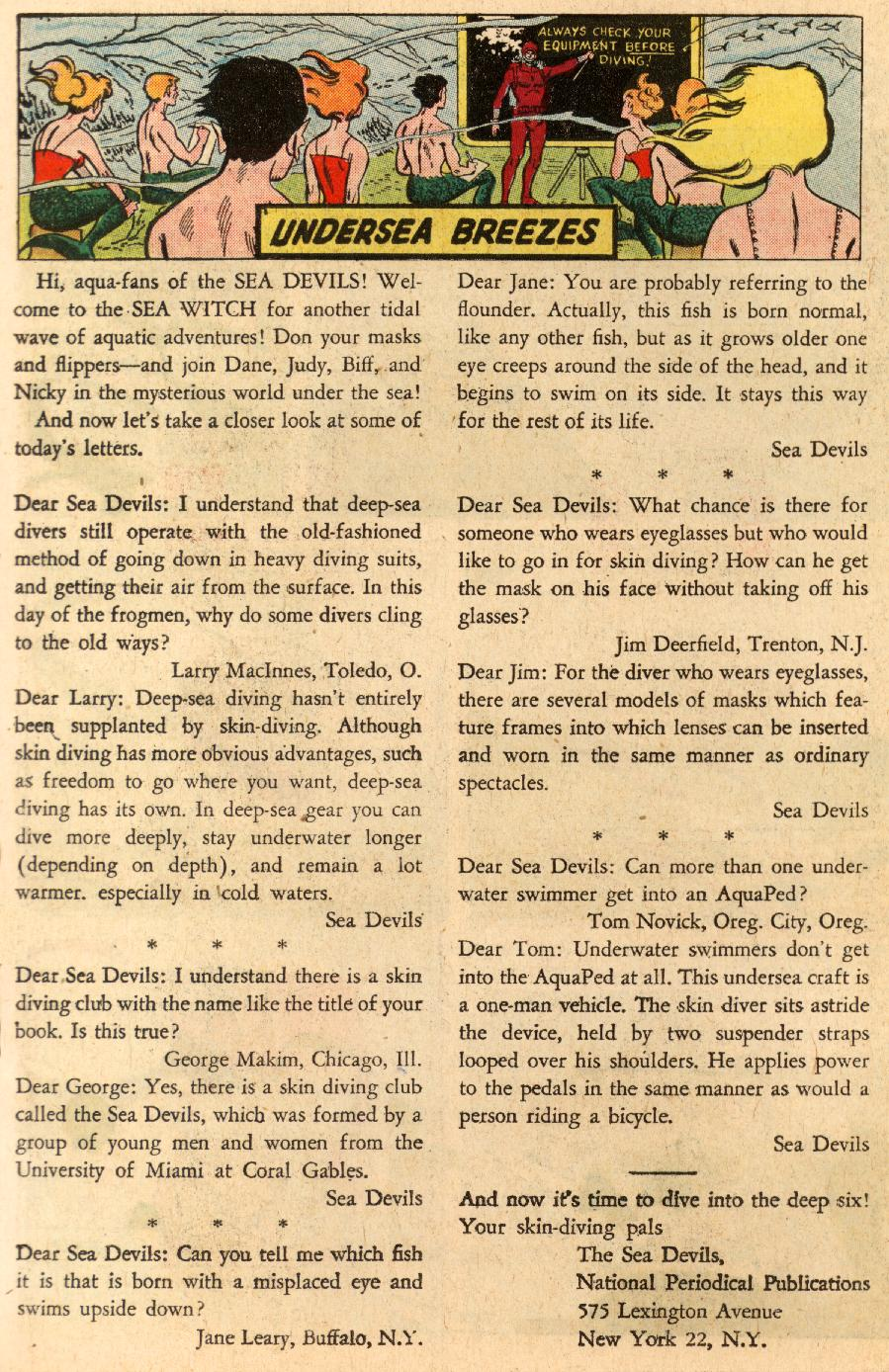 Read online Sea Devils comic -  Issue #5 - 27