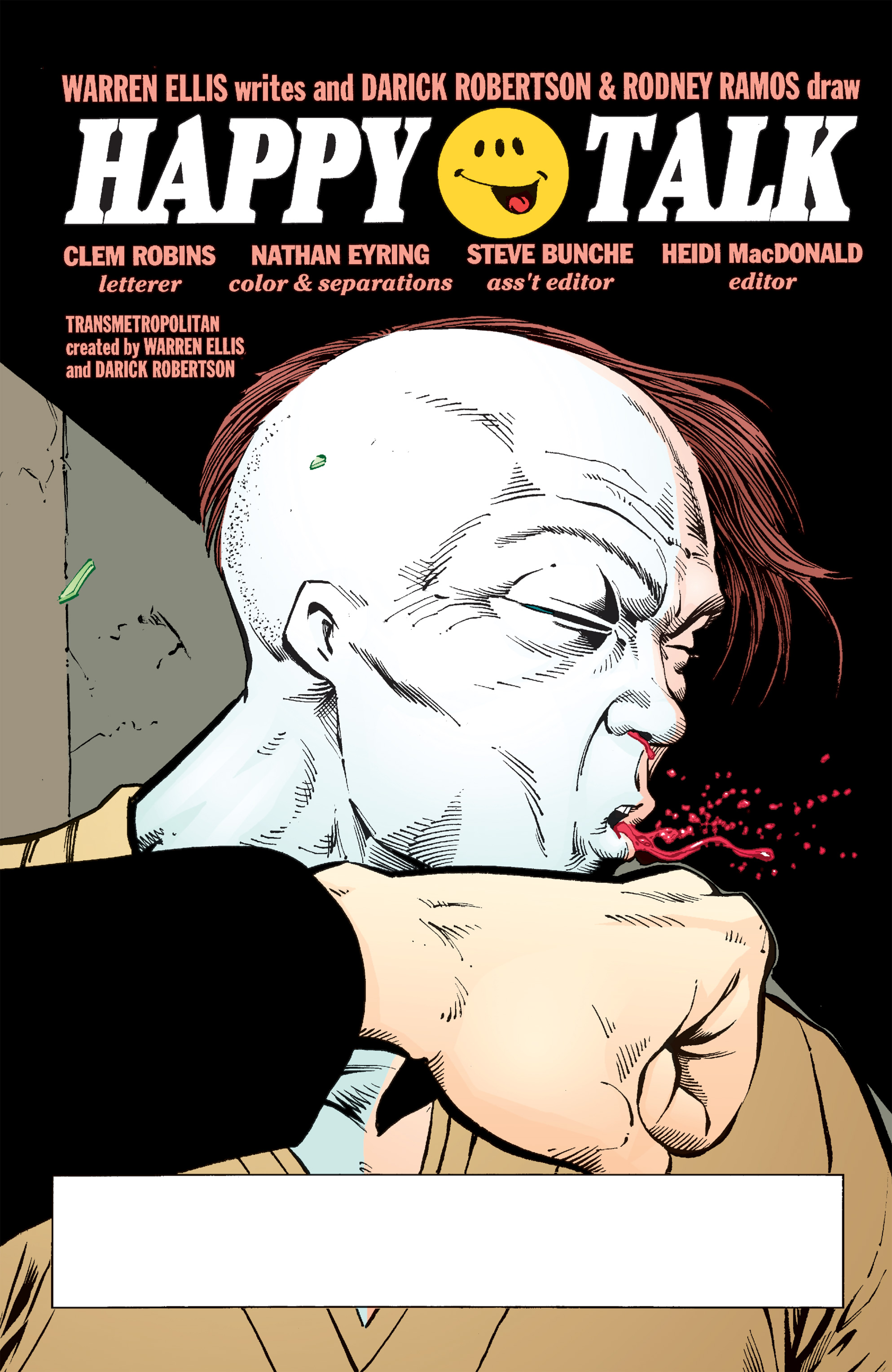 Read online Transmetropolitan comic -  Issue #50 - 2