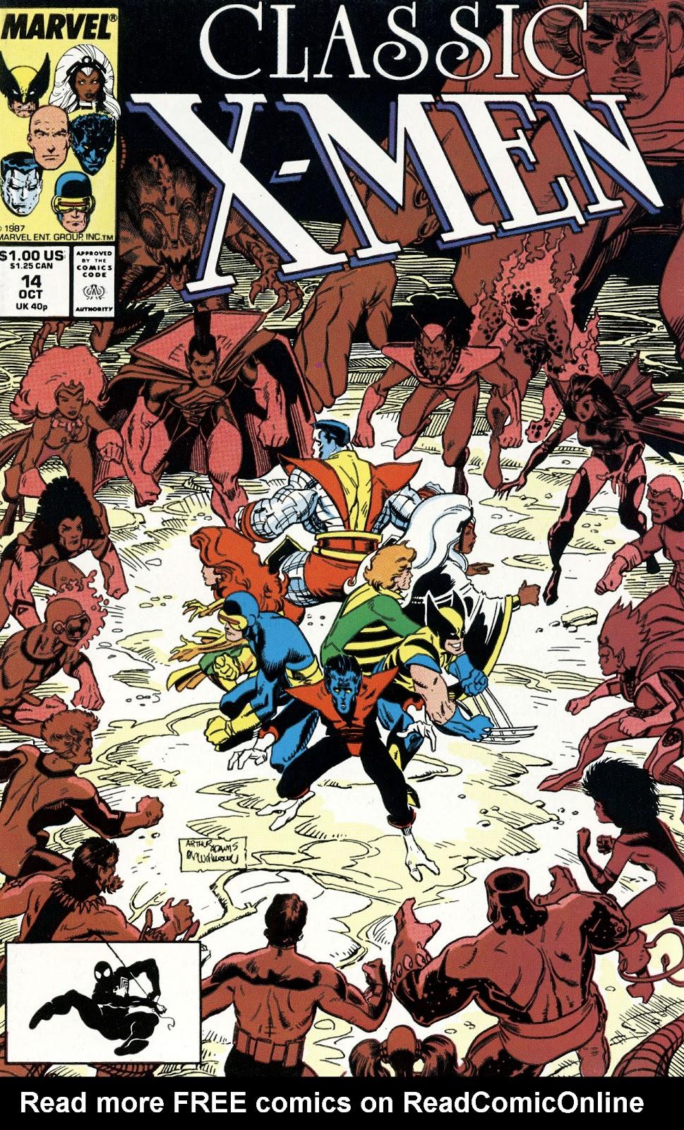 Classic X-Men 14 Page 1