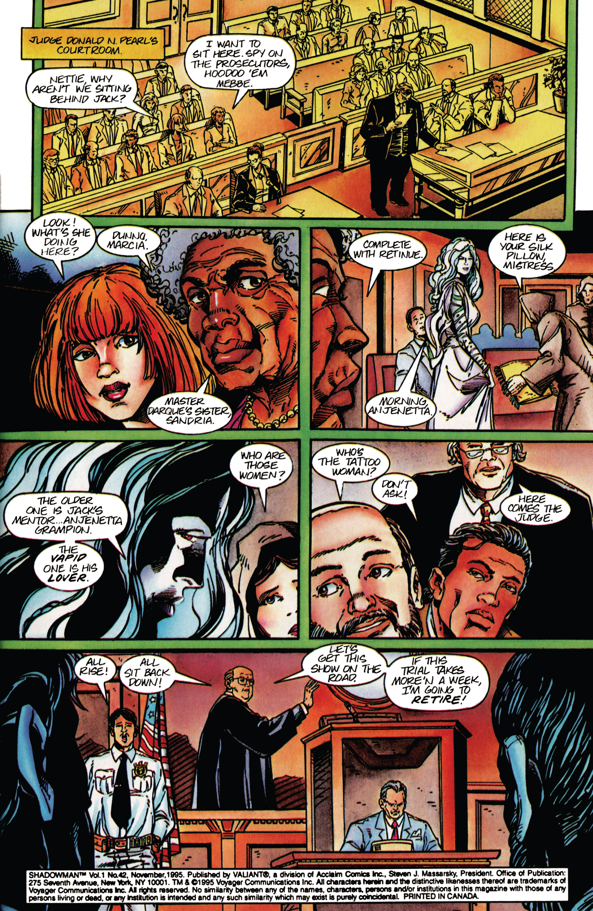 Read online Shadowman (1992) comic -  Issue #42 - 4