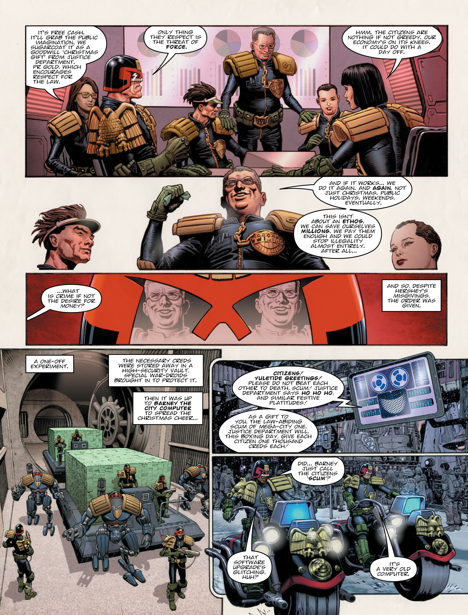 Read online 2000 AD comic -  Issue #2011 - 6