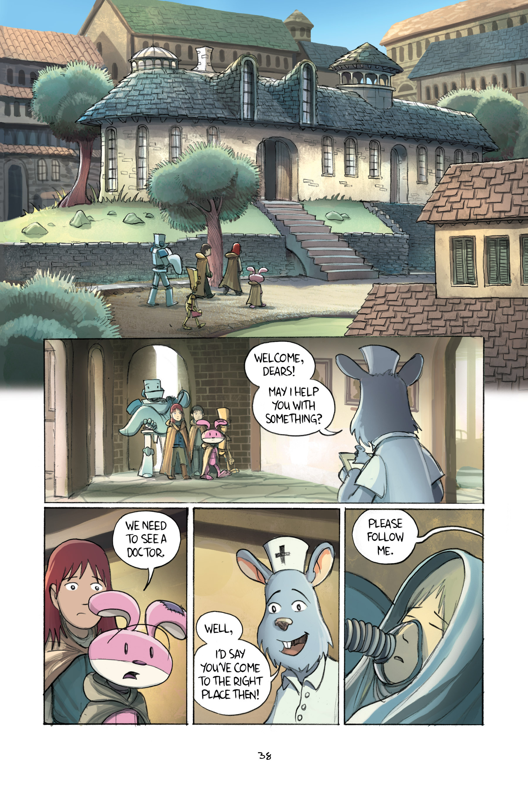 Read online Amulet comic -  Issue #2 - 40