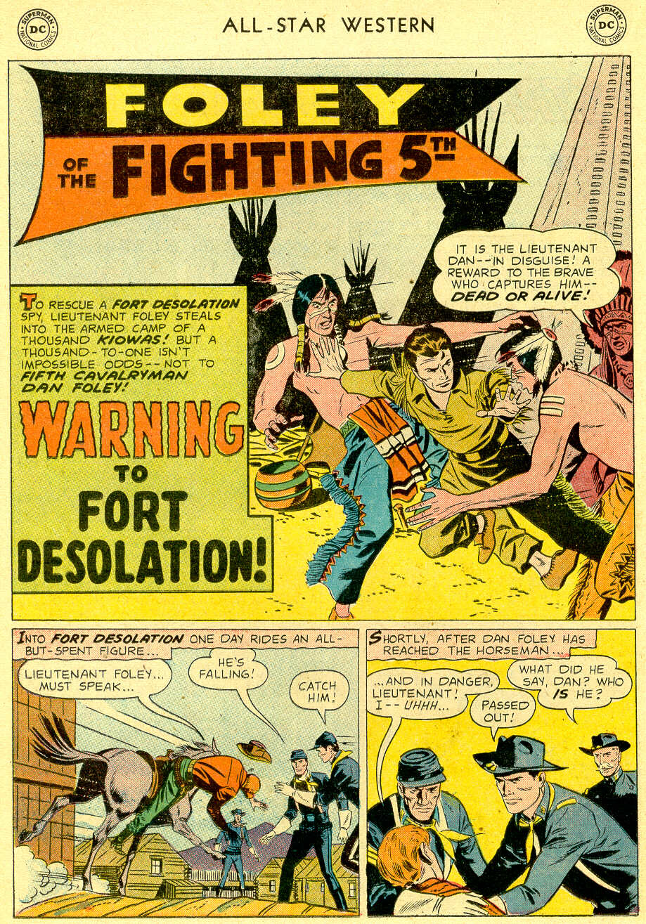 Read online All-Star Western (1951) comic -  Issue #103 - 16