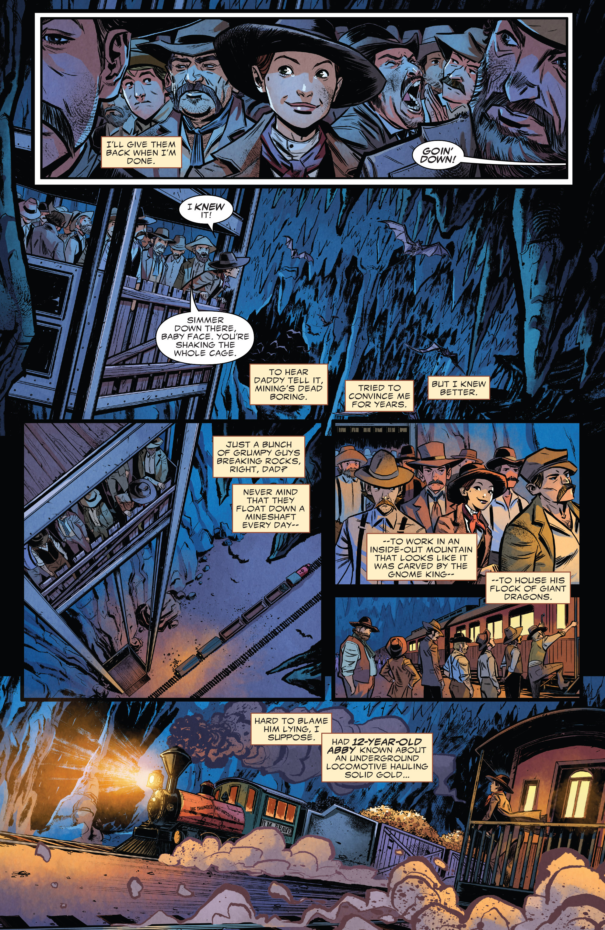 Read online Big Thunder Mountain Railroad comic -  Issue #1 - 20