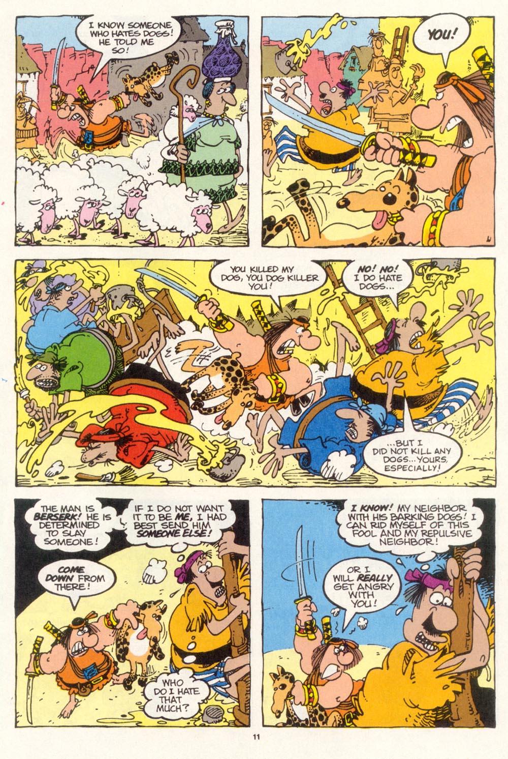 Read online Sergio Aragonés Groo the Wanderer comic -  Issue #112 - 13
