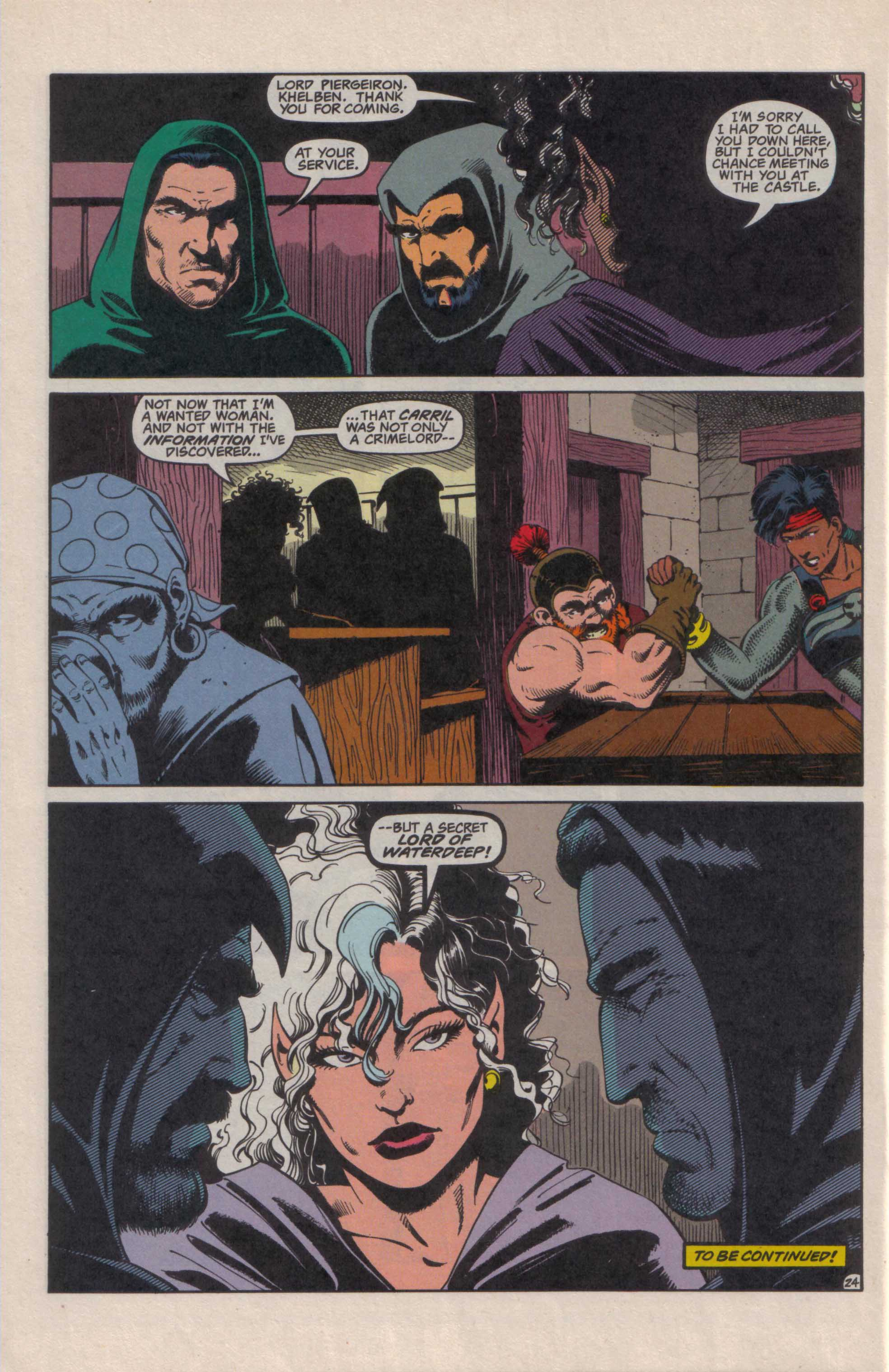 Read online Advanced Dungeons & Dragons comic -  Issue #27 - 25
