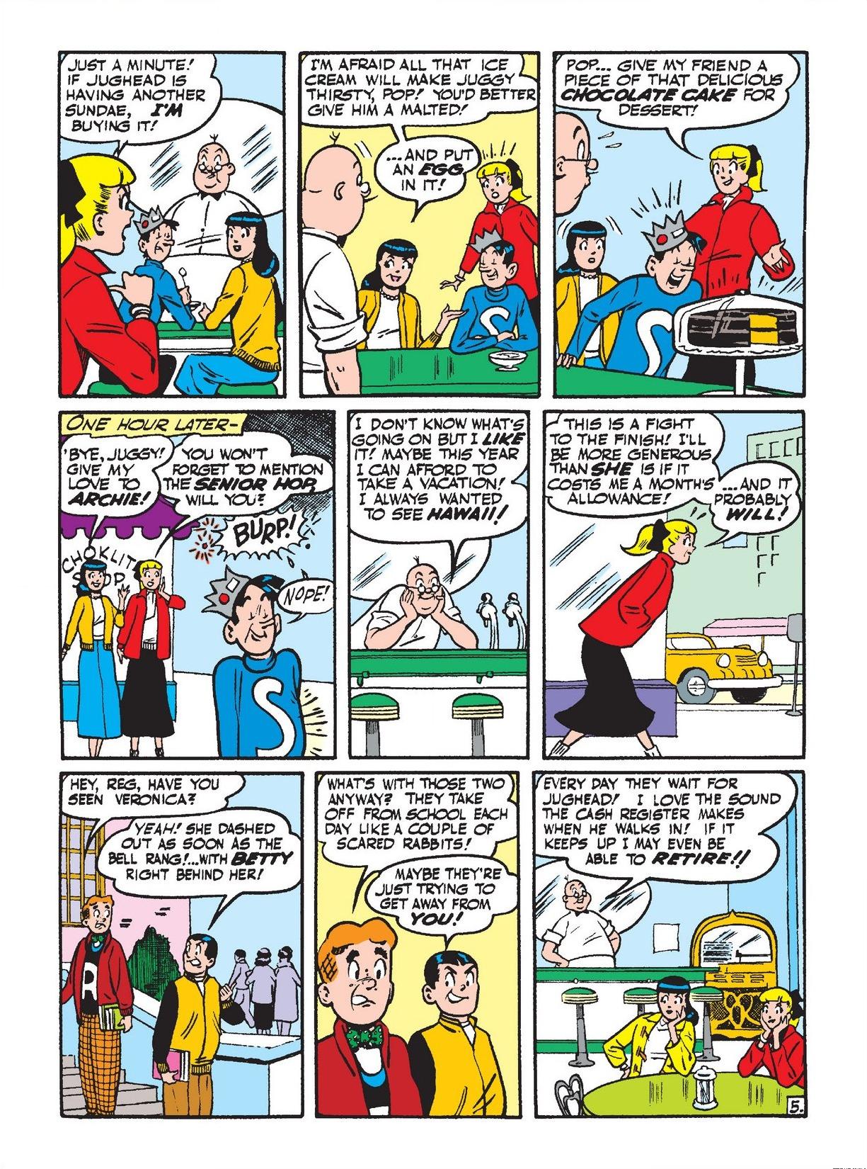 Read online Archie 1000 Page Comics Bonanza comic -  Issue #3 (Part 2) - 132