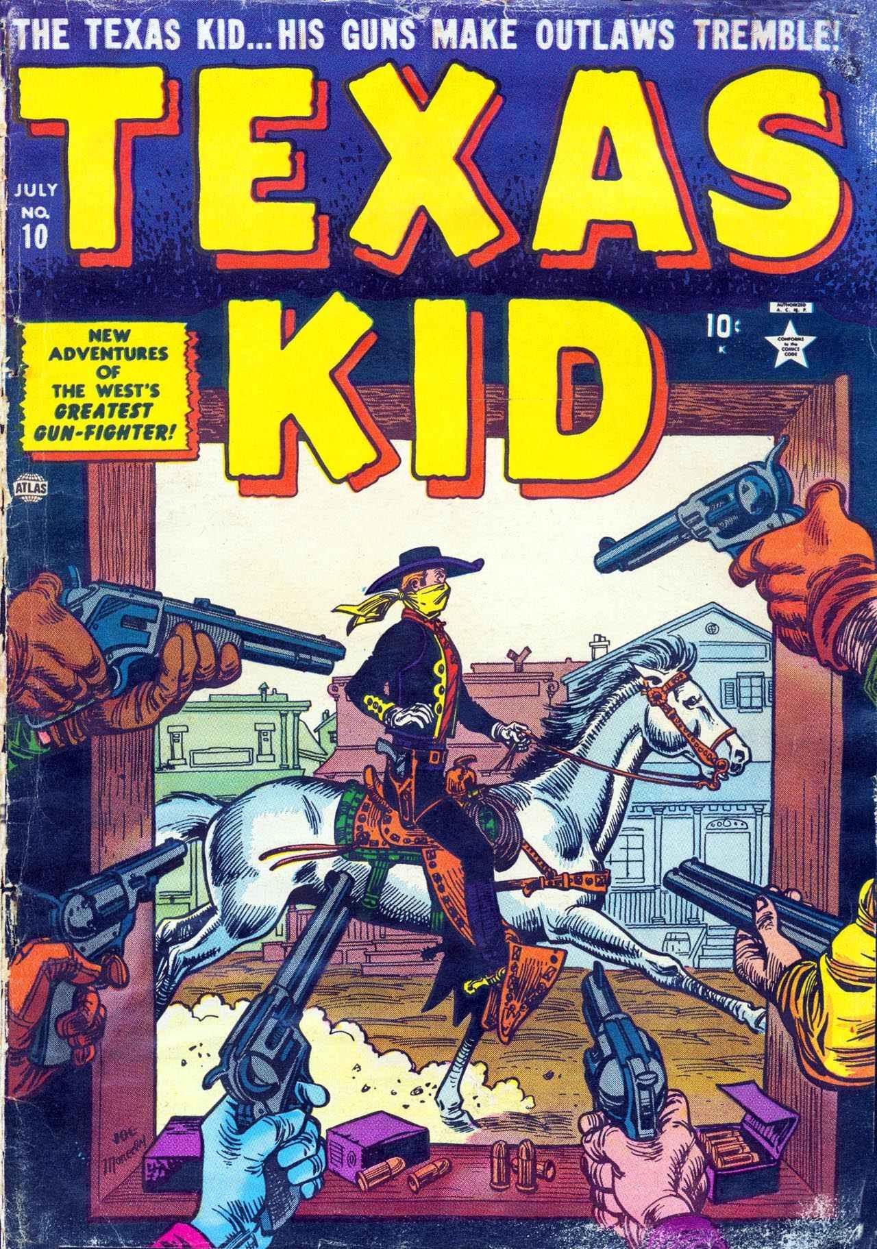 Texas Kid 10 Page 1