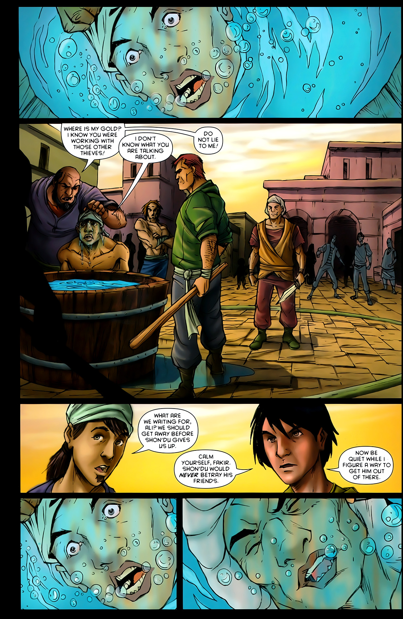Read online 1001 Arabian Nights: The Adventures of Sinbad comic -  Issue #10 - 3