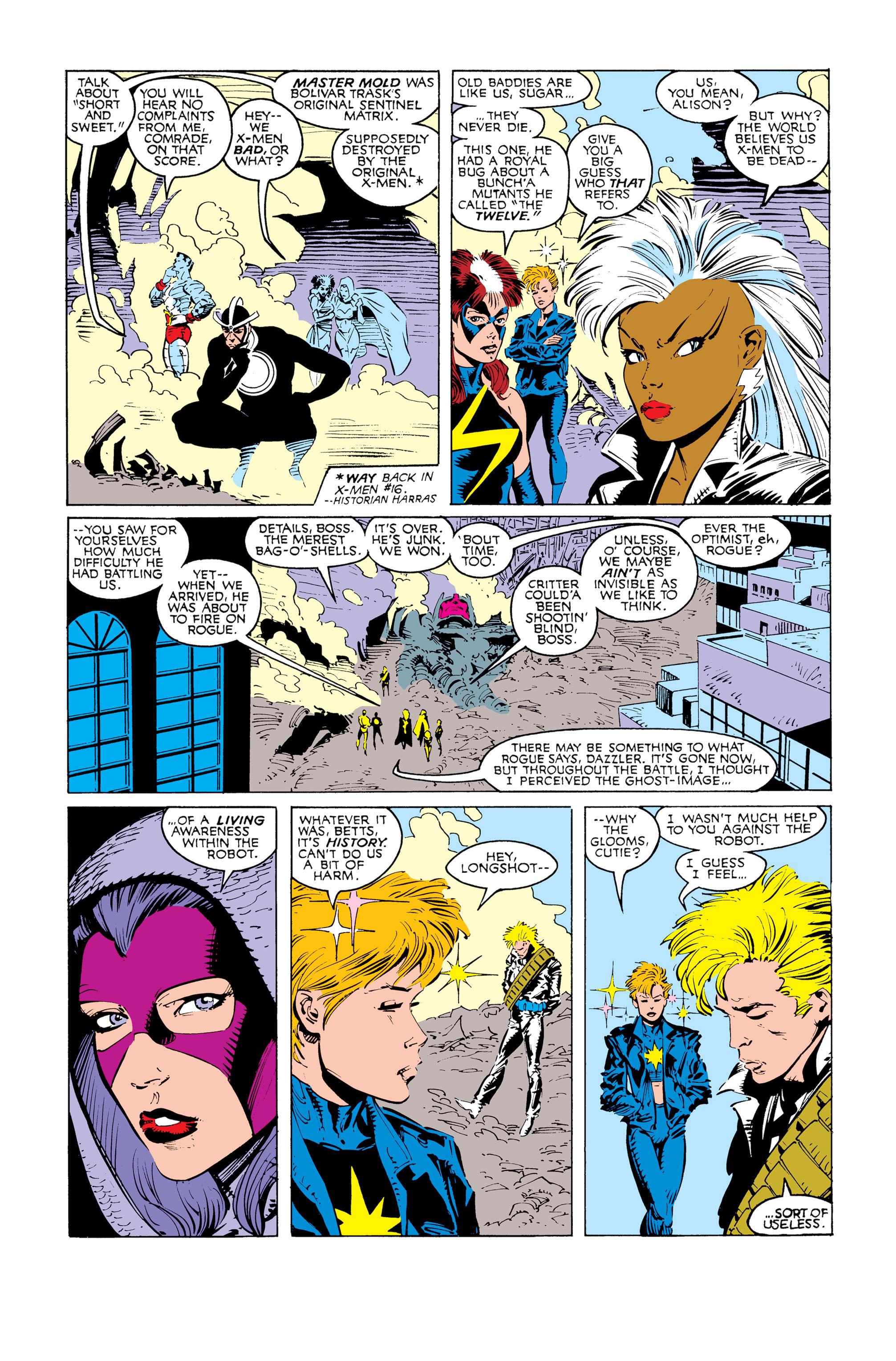 Read online Uncanny X-Men (1963) comic -  Issue #247 - 7
