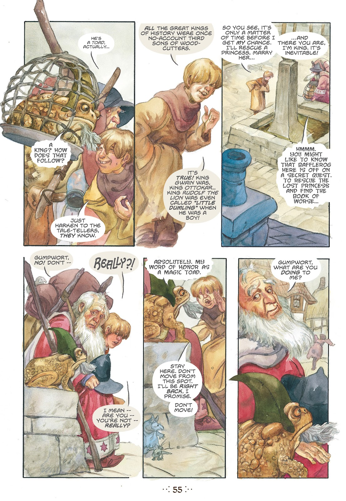 Read online The Wizard's Tale comic -  Issue # TPB - 52