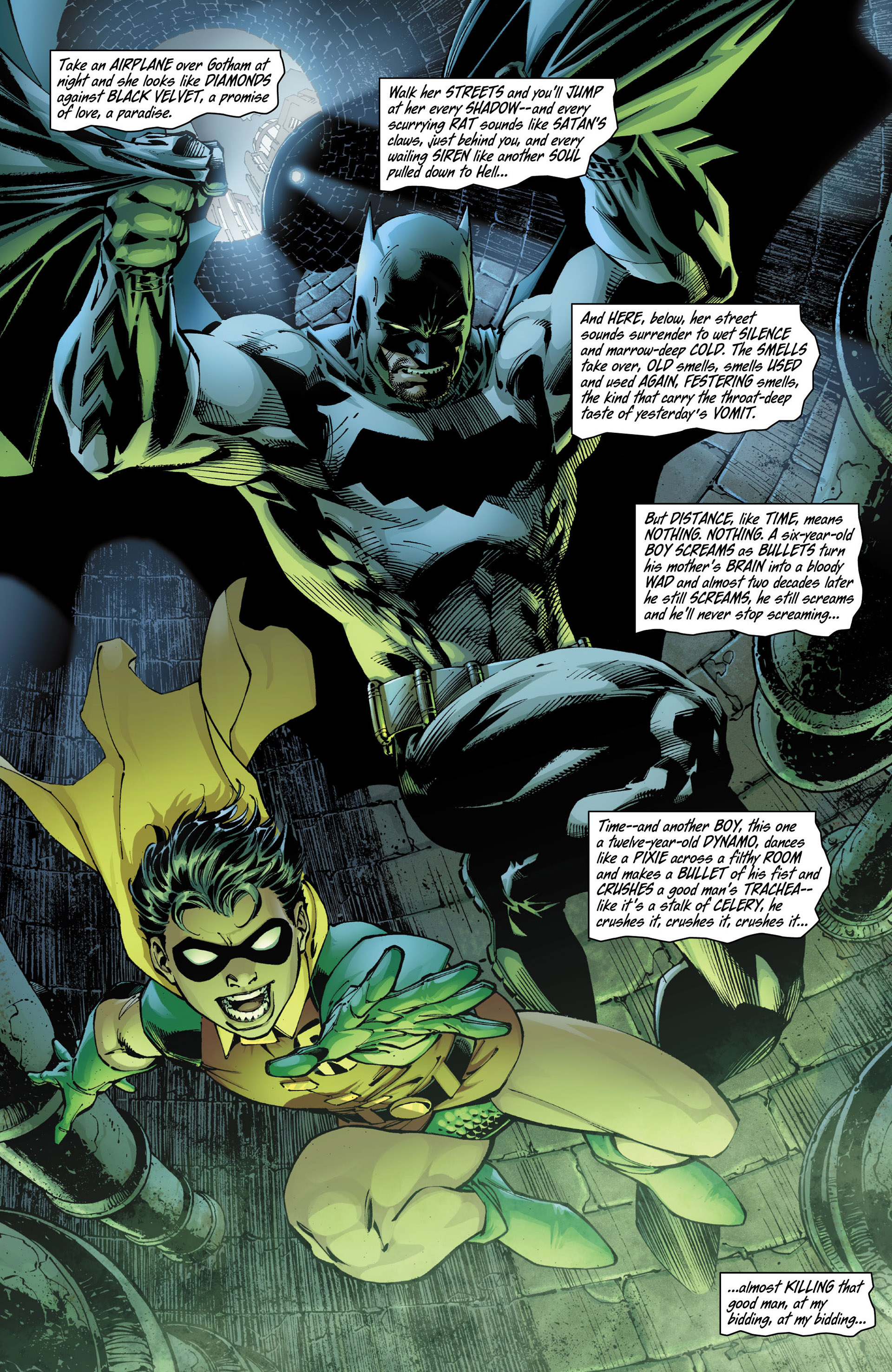 Read online All Star Batman & Robin, The Boy Wonder comic -  Issue #10 - 9