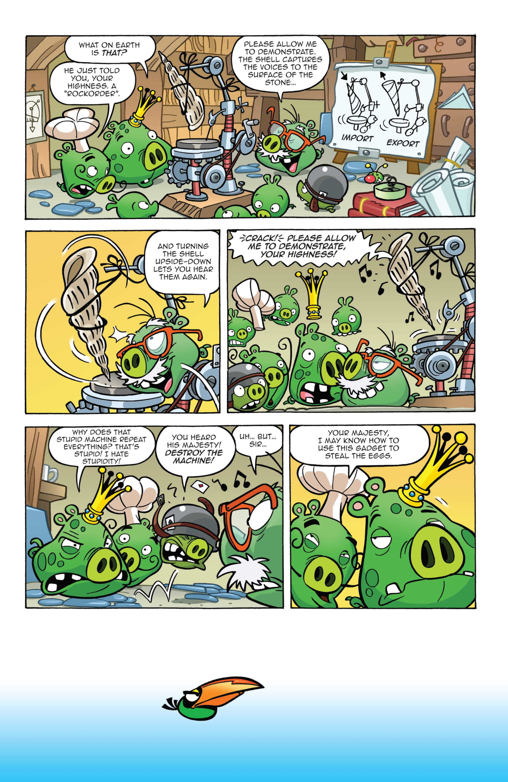 Read online Angry Birds Comics (2014) comic -  Issue #7 - 6
