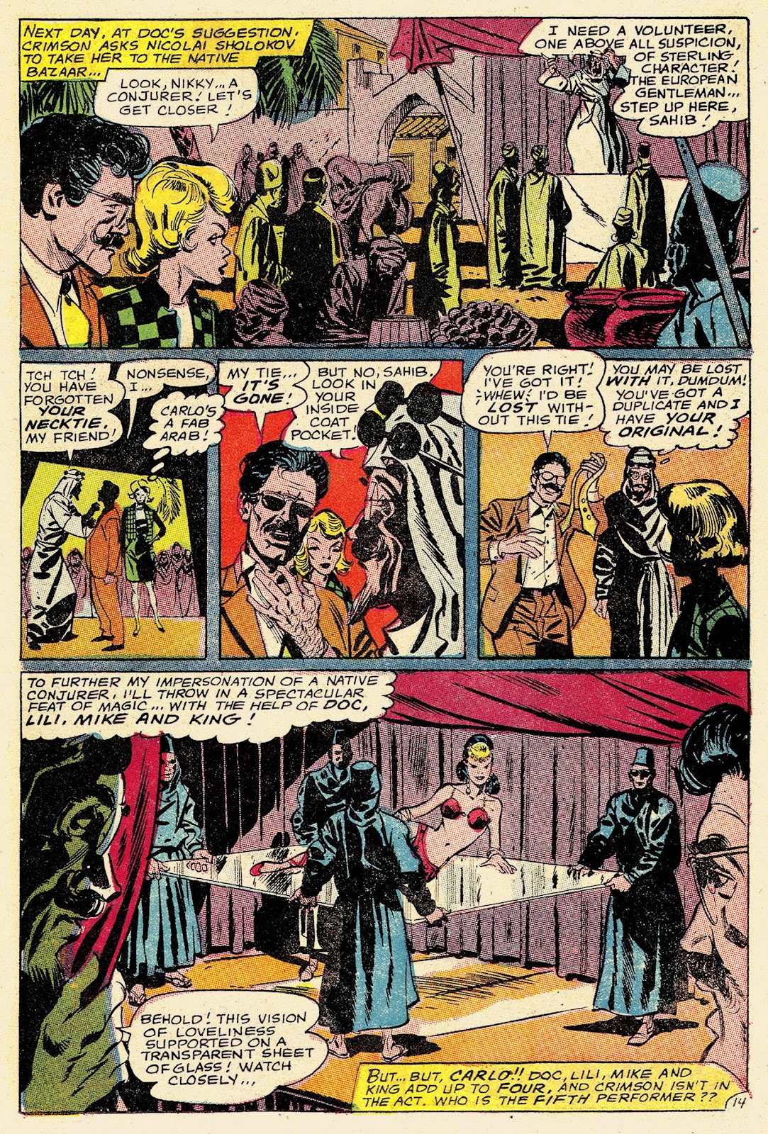 Secret Six (1968) issue 2 - Page 19