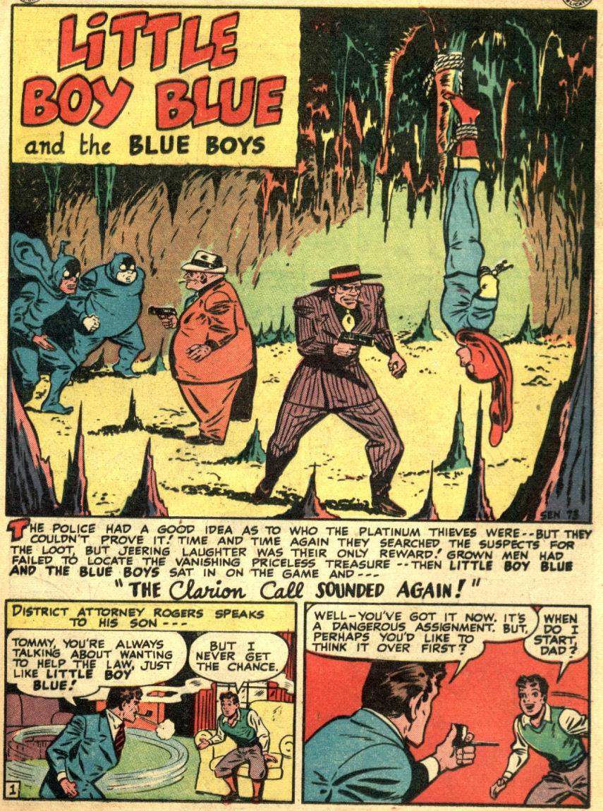 Read online Sensation (Mystery) Comics comic -  Issue #69 - 19