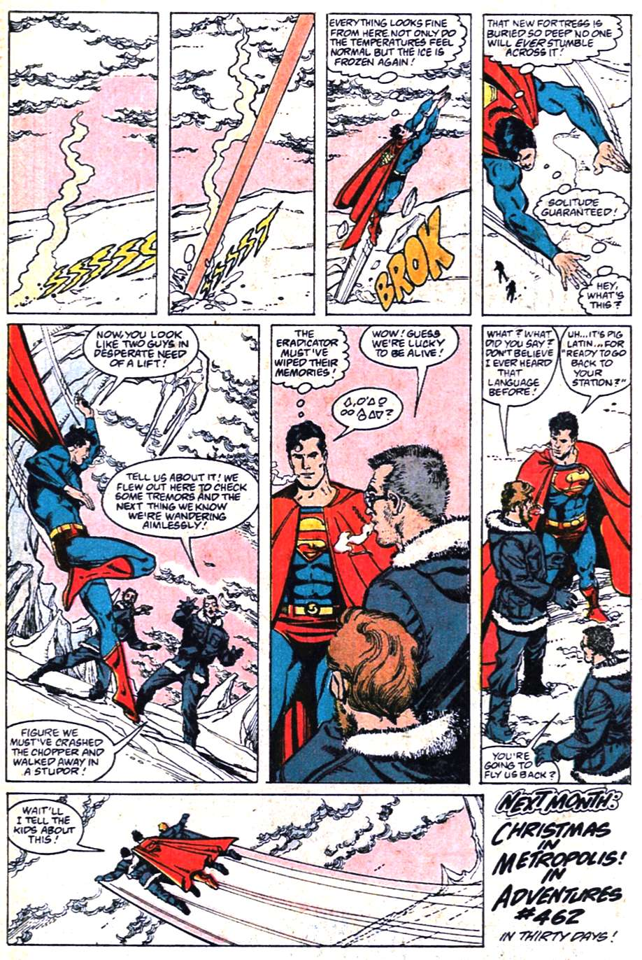 Read online Adventures of Superman (1987) comic -  Issue #461 - 23