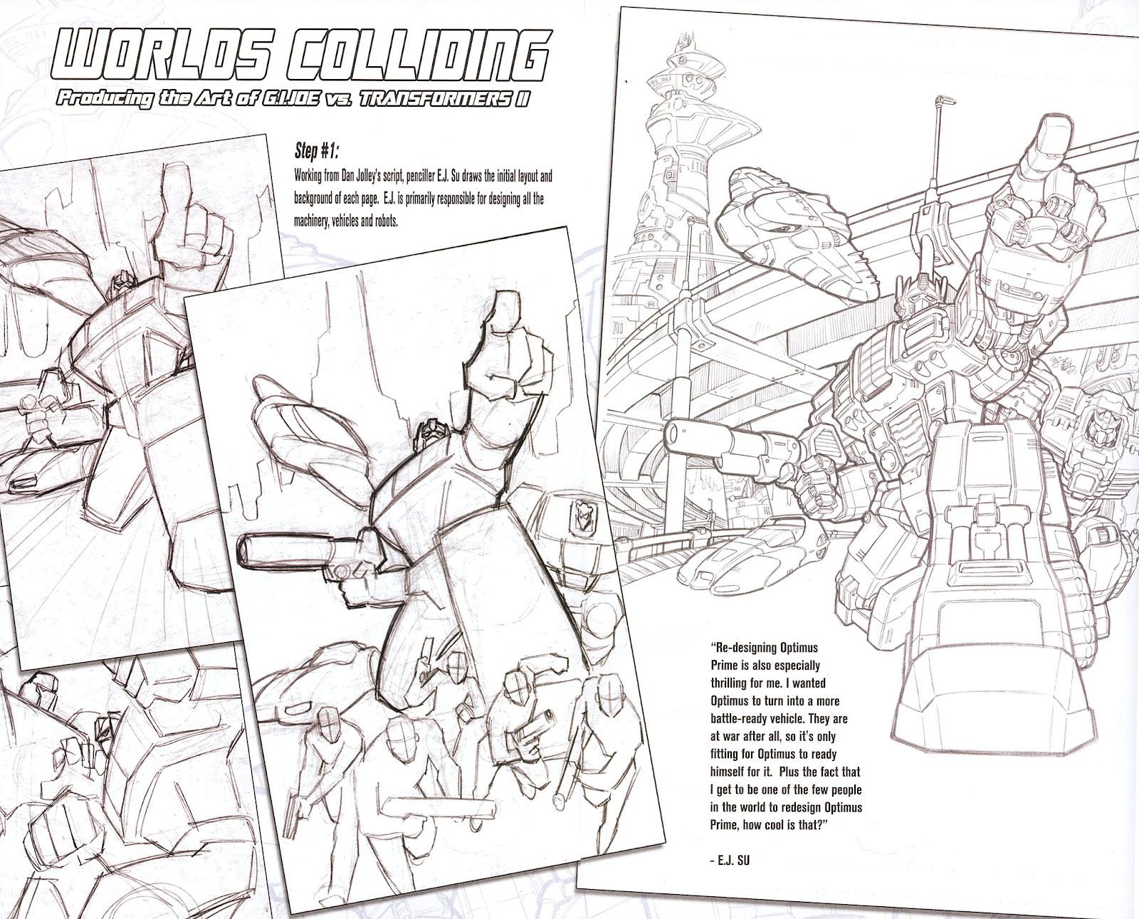G.I. Joe vs. The Transformers II Issue #0 #1 - English 8