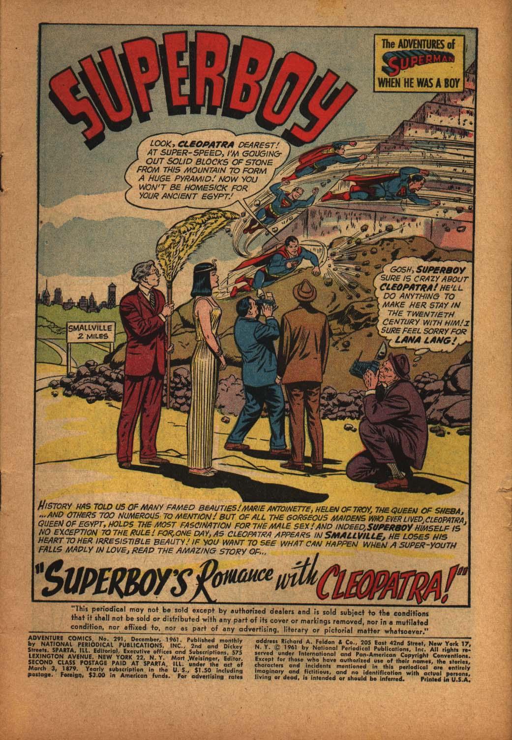 Read online Adventure Comics (1938) comic -  Issue #291 - 3