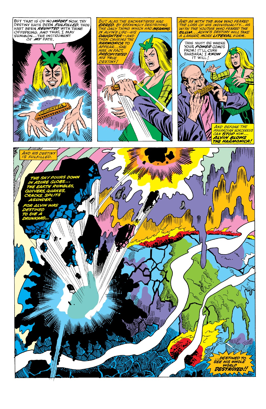Read online Marvel Two-In-One Epic Collection: Cry Monster comic -  Issue # TPB (Part 2) - 74