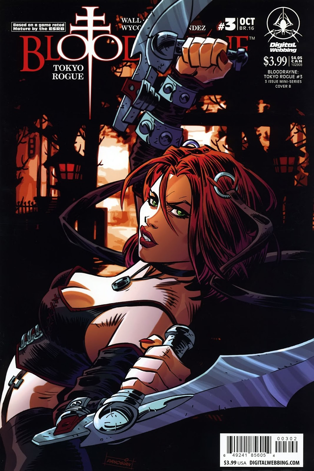 BloodRayne: Tokyo Rogue issue 3 - Page 1