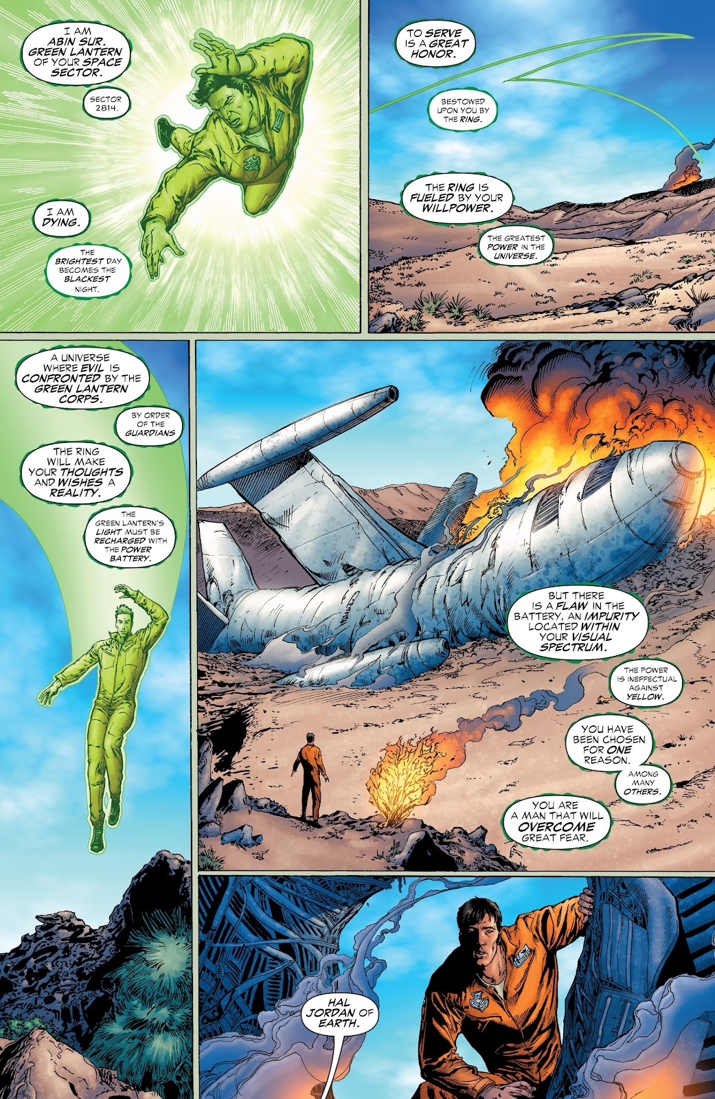 Read online Green Lantern by Geoff Johns comic -  Issue # TPB 1 (Part 3) - 98