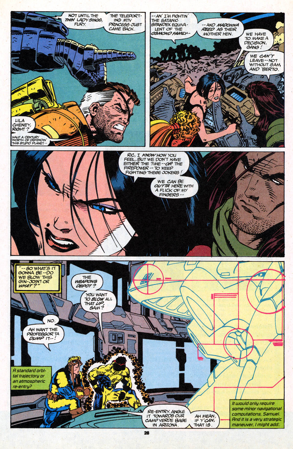 Read online X-Force (1991) comic -  Issue #21 - 29