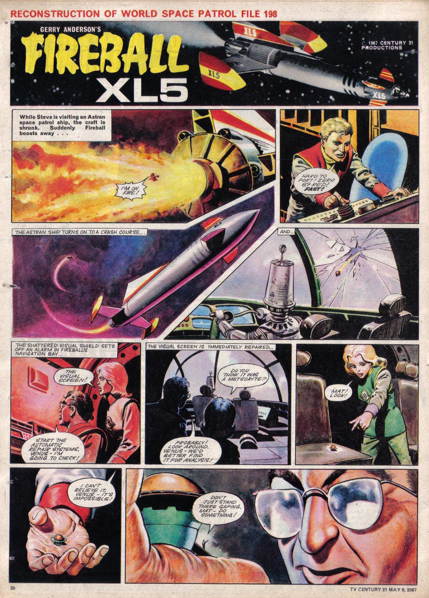 Read online TV Century 21 (TV 21) comic -  Issue #120 - 19