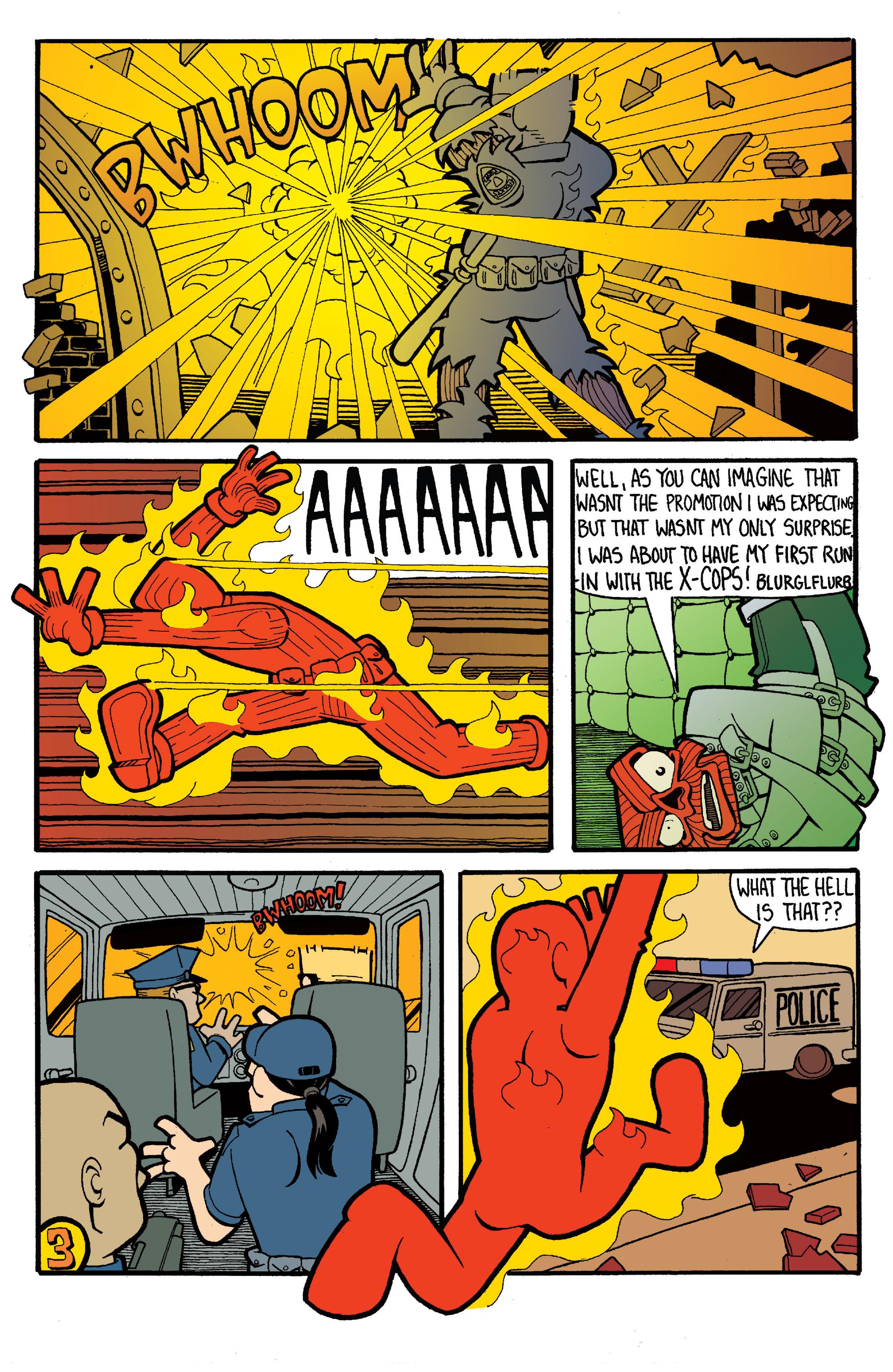 Read online Gwar: Orgasmageddon comic -  Issue #1 - 23