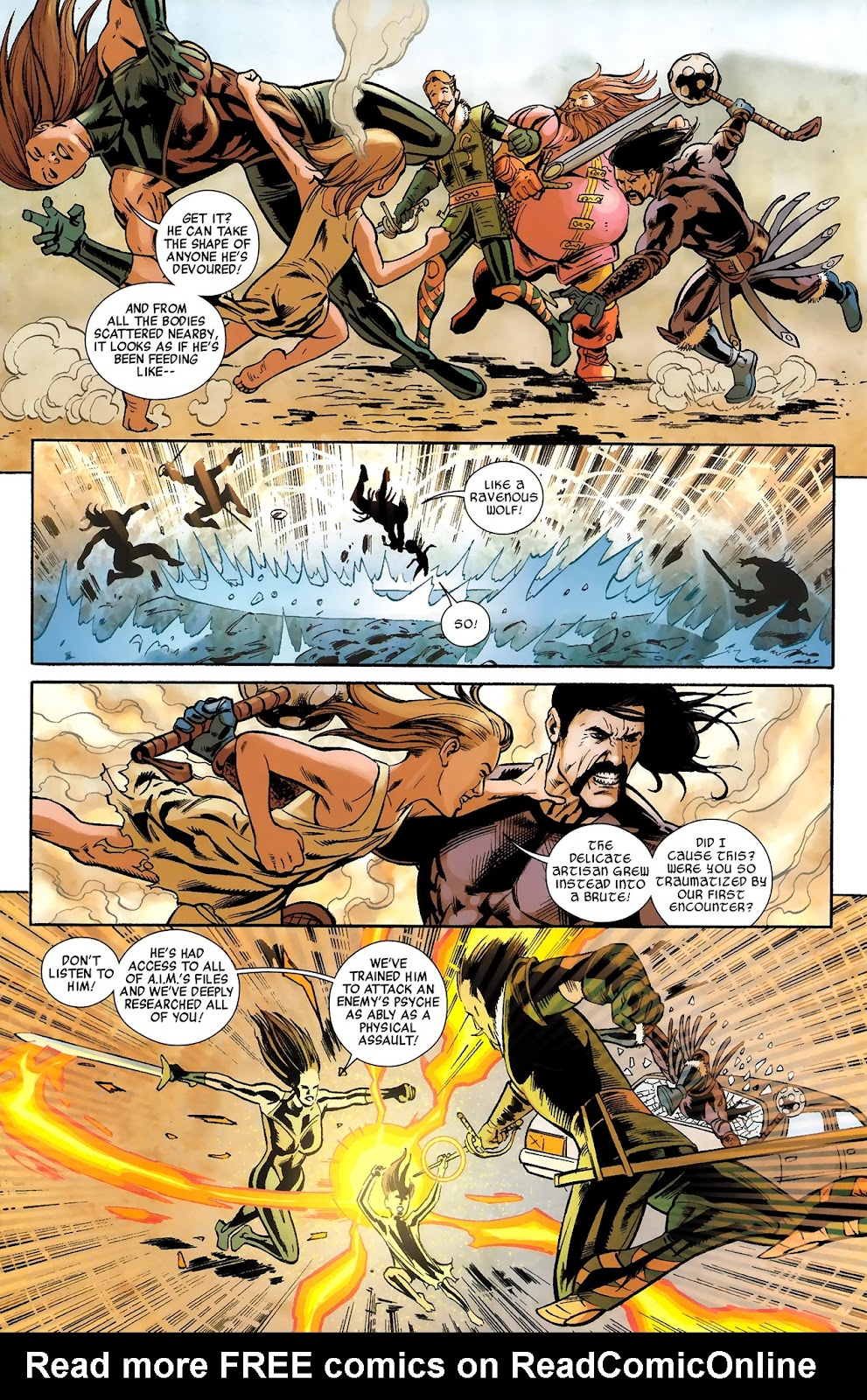 Warriors Three Issue #4 #4 - English 6