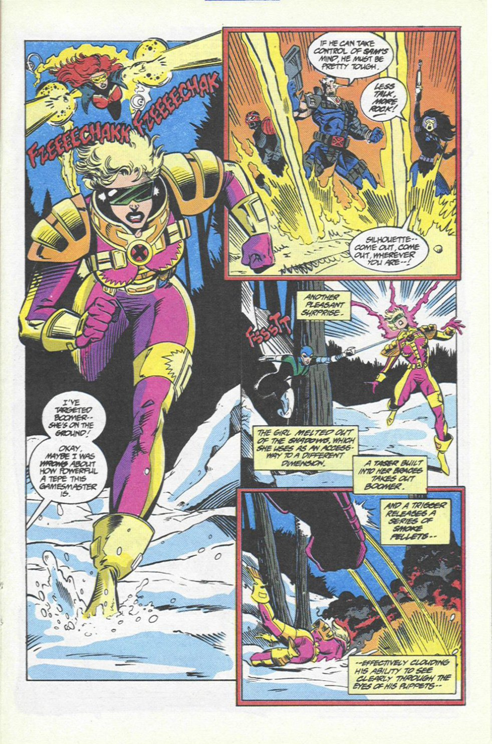 The New Warriors Issue #46 #50 - English 15