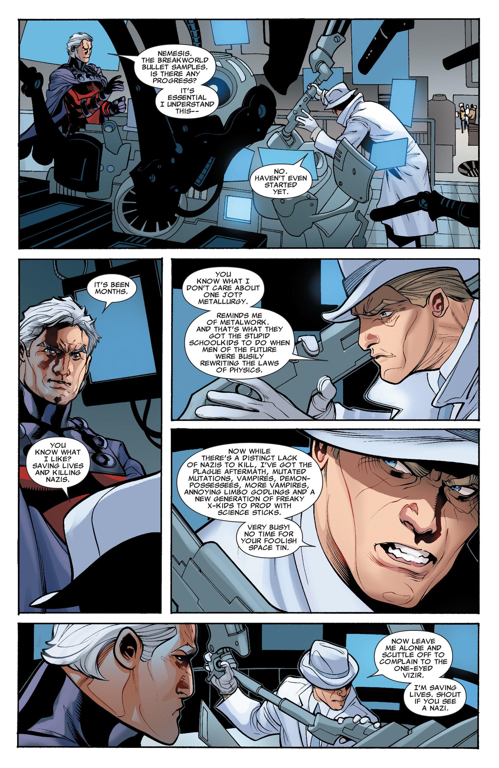 Read online Uncanny X-Men (1963) comic -  Issue #535 - 11