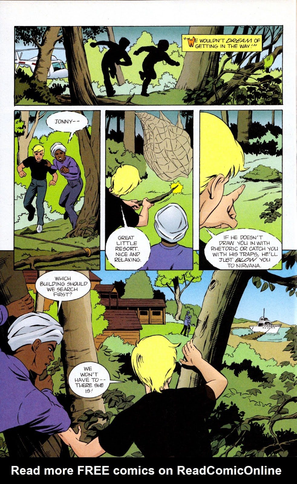Read online The Real Adventures of Jonny Quest comic -  Issue #9 - 24