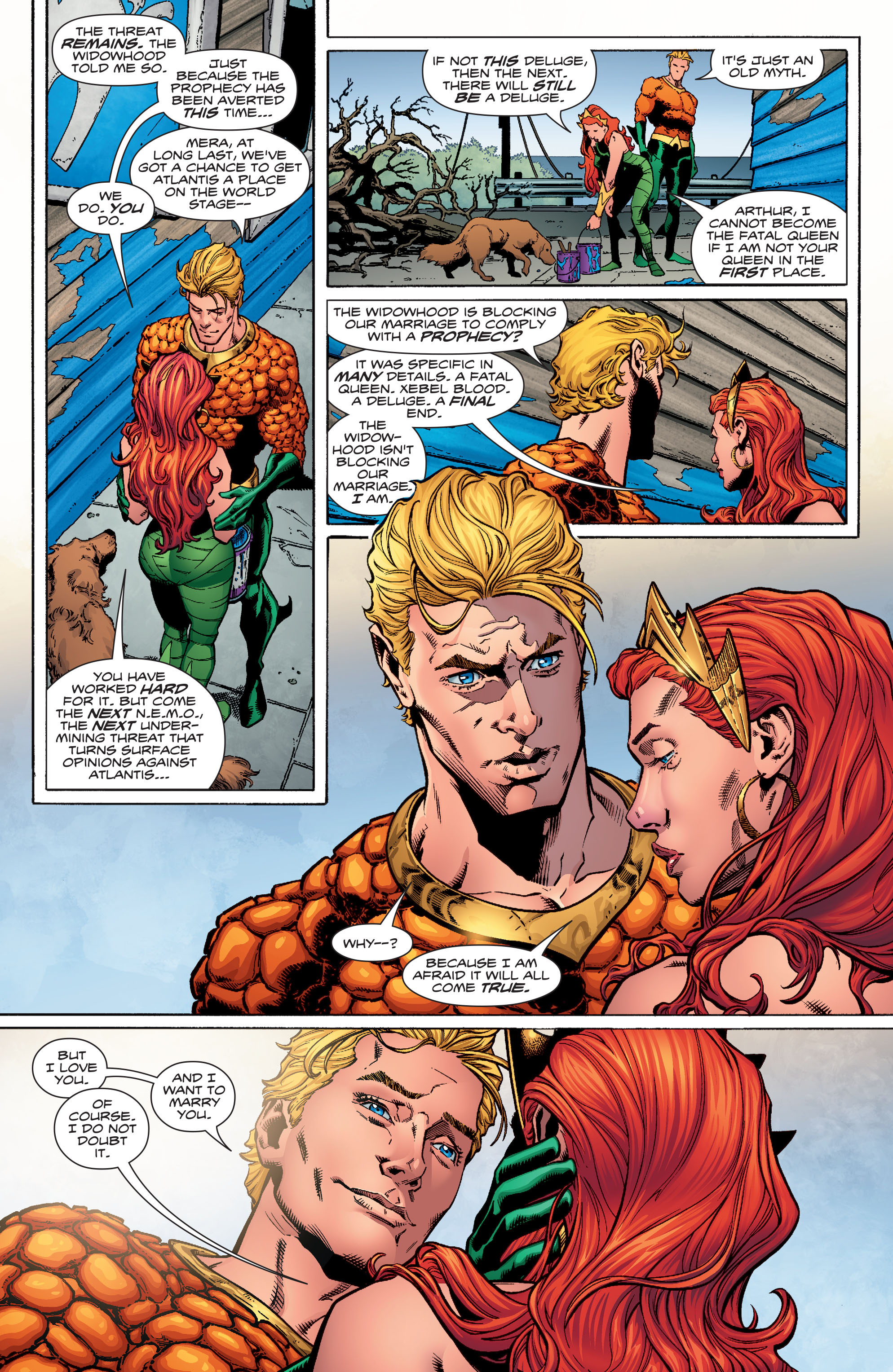 Read online Aquaman (2016) comic -  Issue #16 - 14