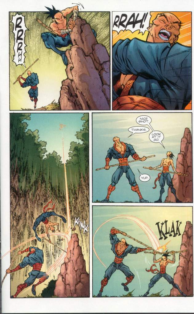 Read online Ninja Boy comic -  Issue #1 - 18