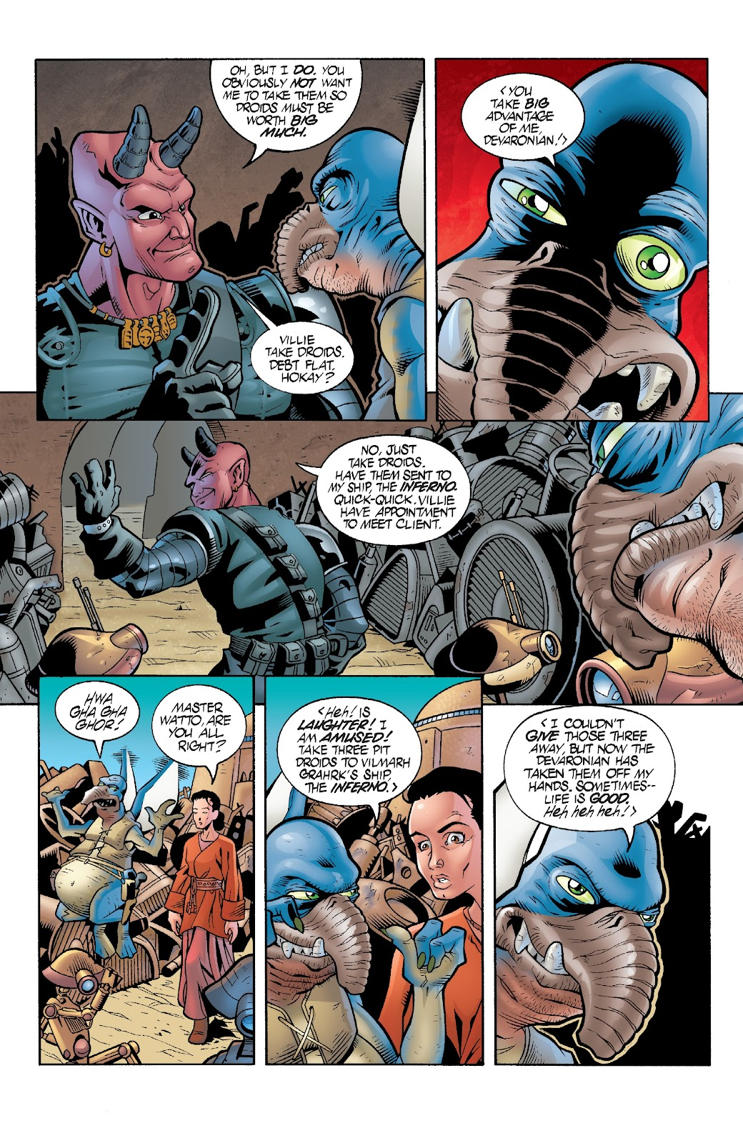 Read online Star Wars Legends Epic Collection: The Menace Revealed comic -  Issue # TPB (Part 3) - 35
