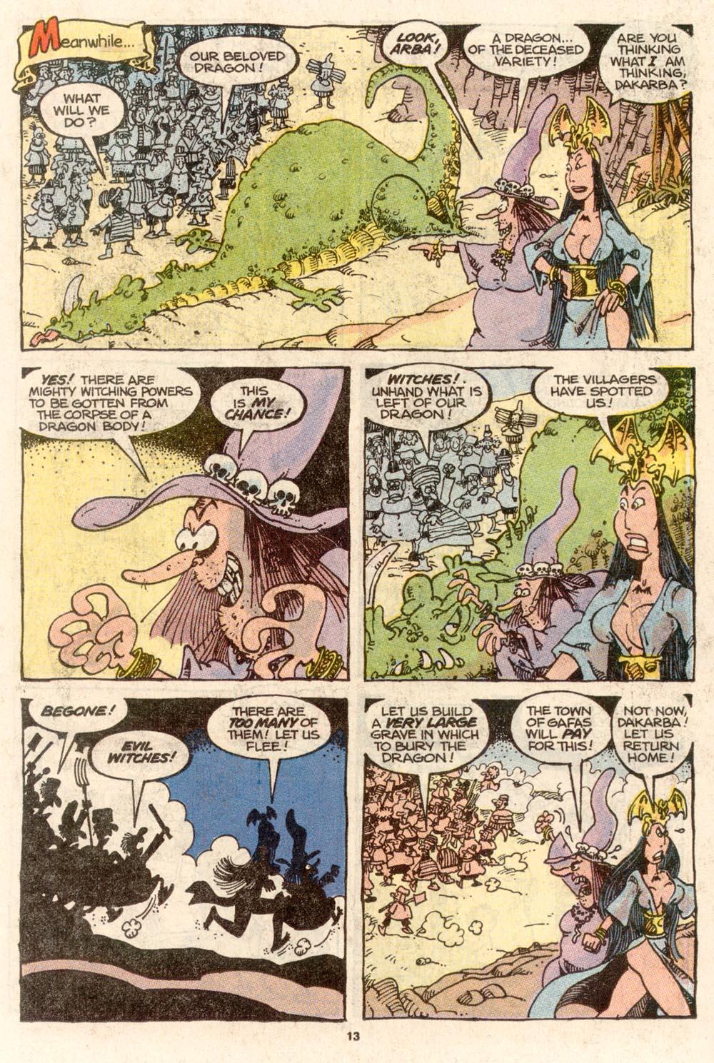 Read online Sergio Aragonés Groo the Wanderer comic -  Issue #67 - 9