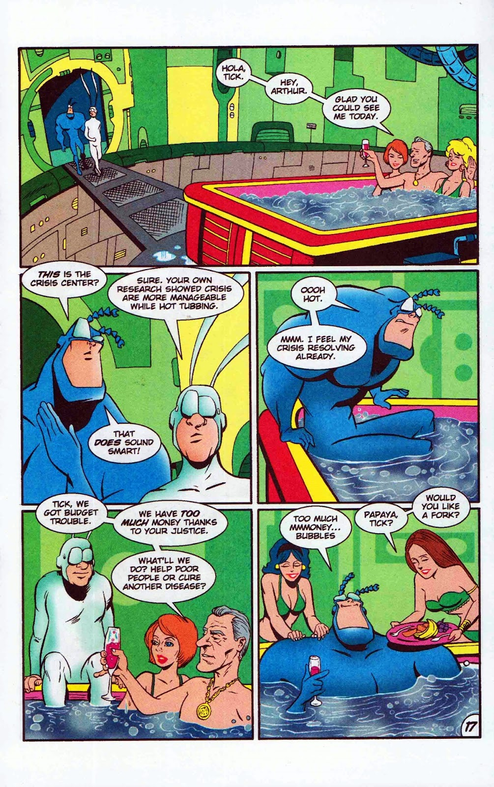 Read online The Tick: Days of Drama comic -  Issue #6 - 19