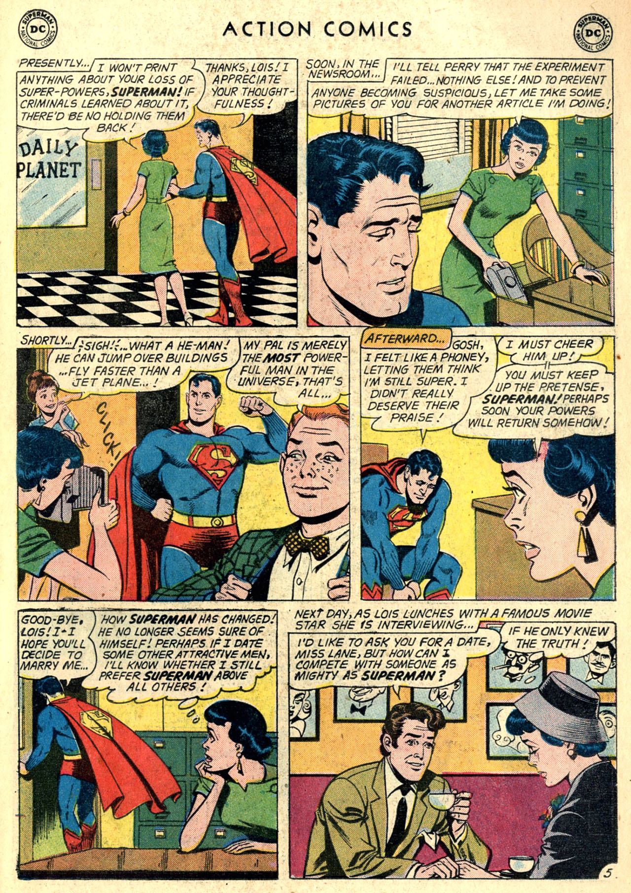 Read online Action Comics (1938) comic -  Issue #274 - 7