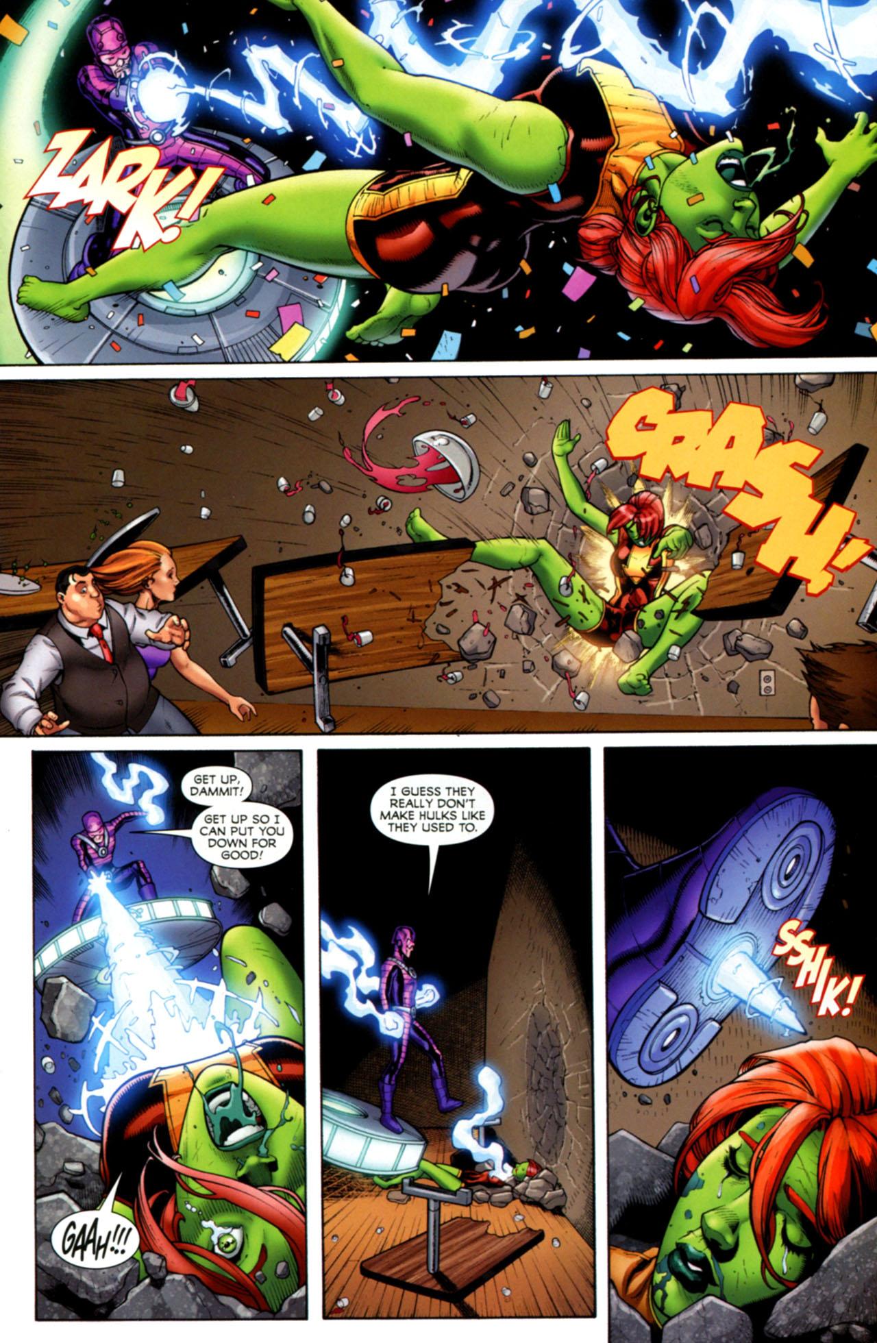 Read online She-Hulks comic -  Issue #4 - 17